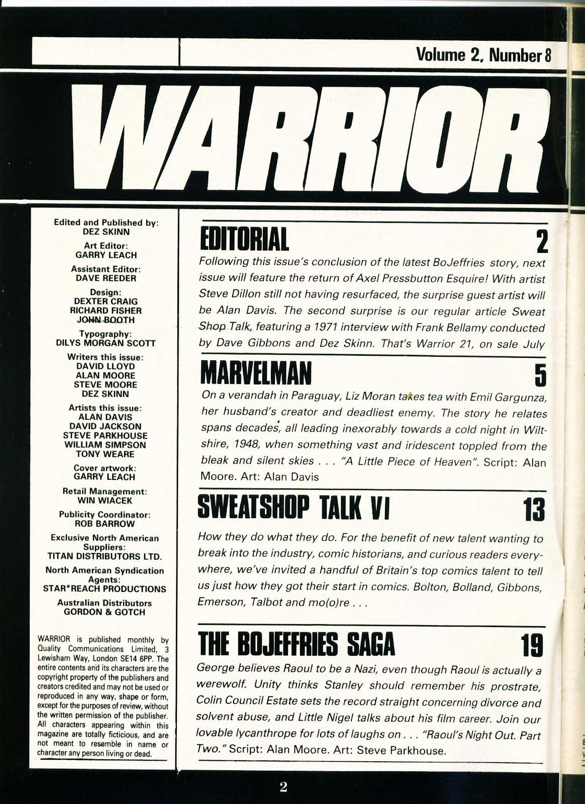 Warrior Issue #20 #21 - English 2