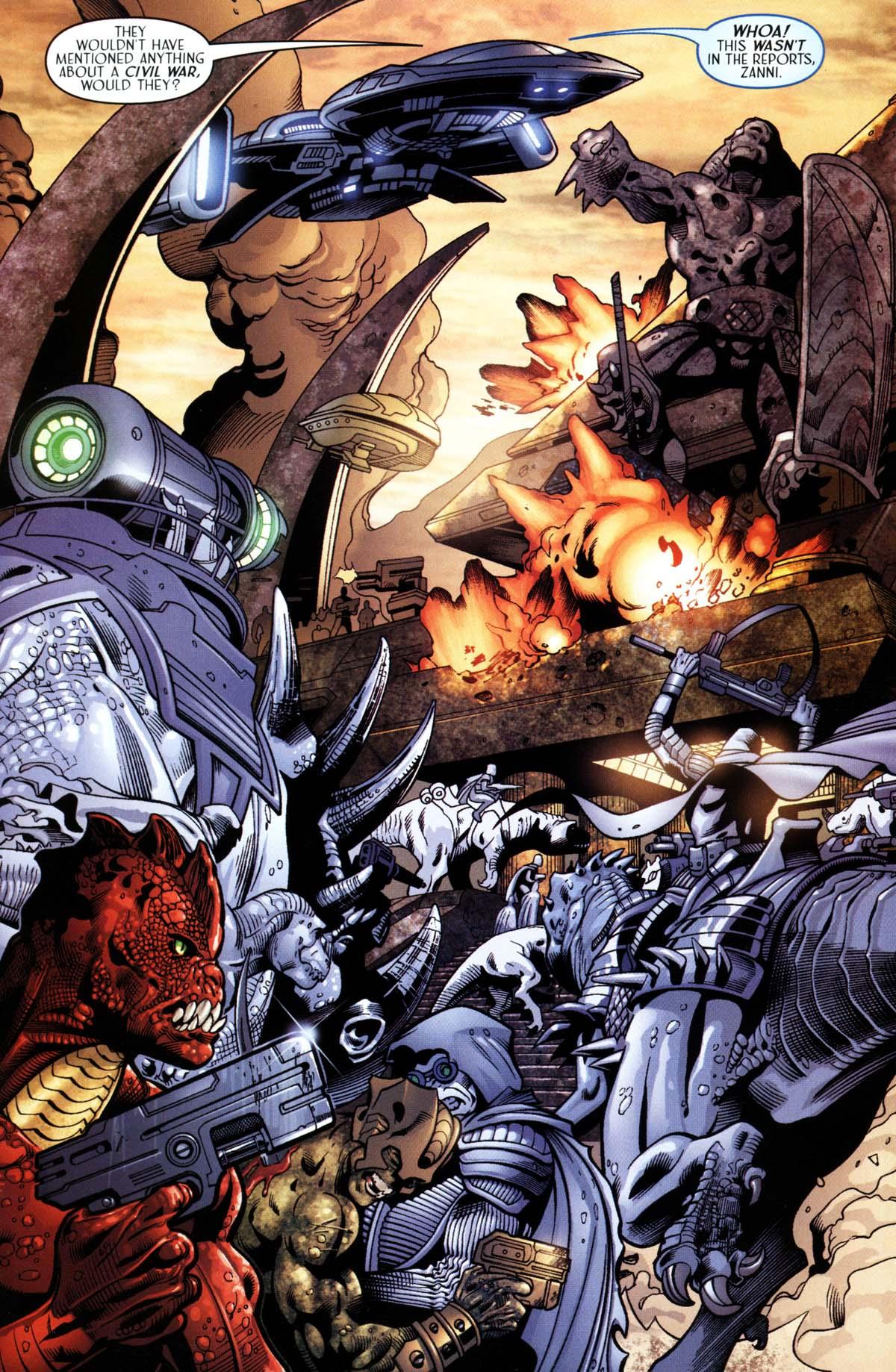Read online Sigil (2000) comic -  Issue #26 - 33
