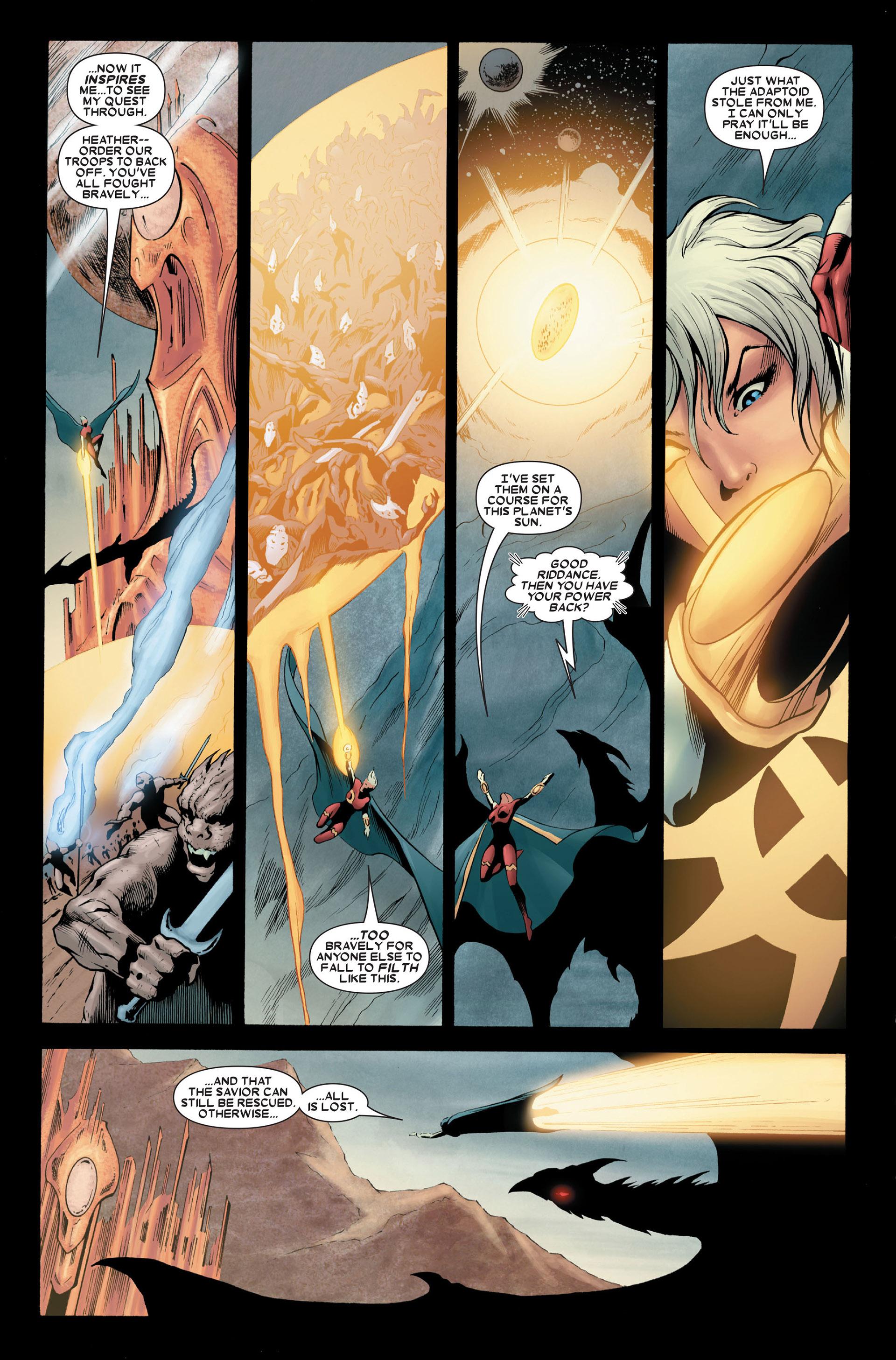 Read online Annihilation: Conquest - Quasar comic -  Issue #4 - 16
