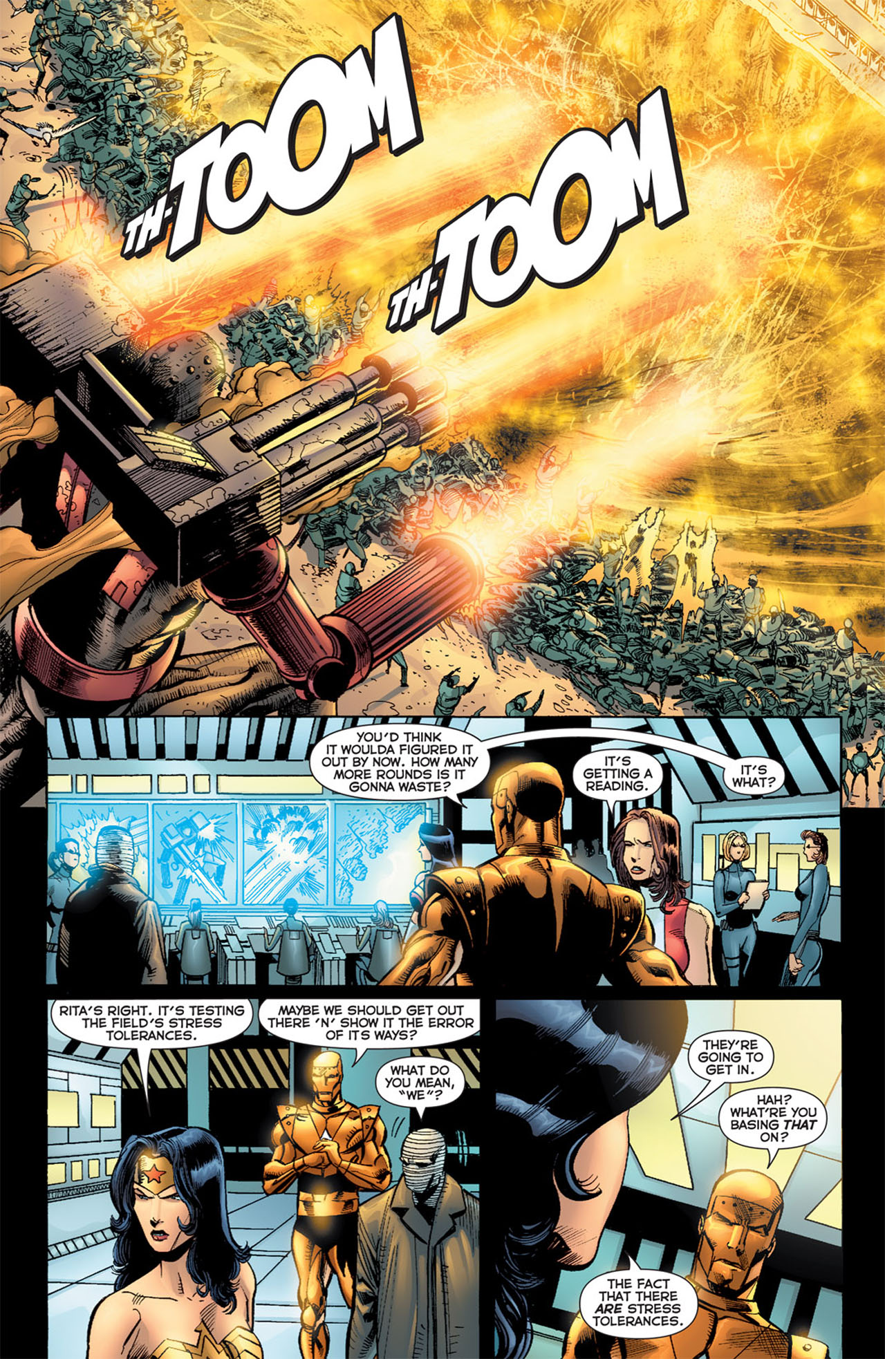 Read online 52 Aftermath: The Four Horsemen comic -  Issue #5 - 18