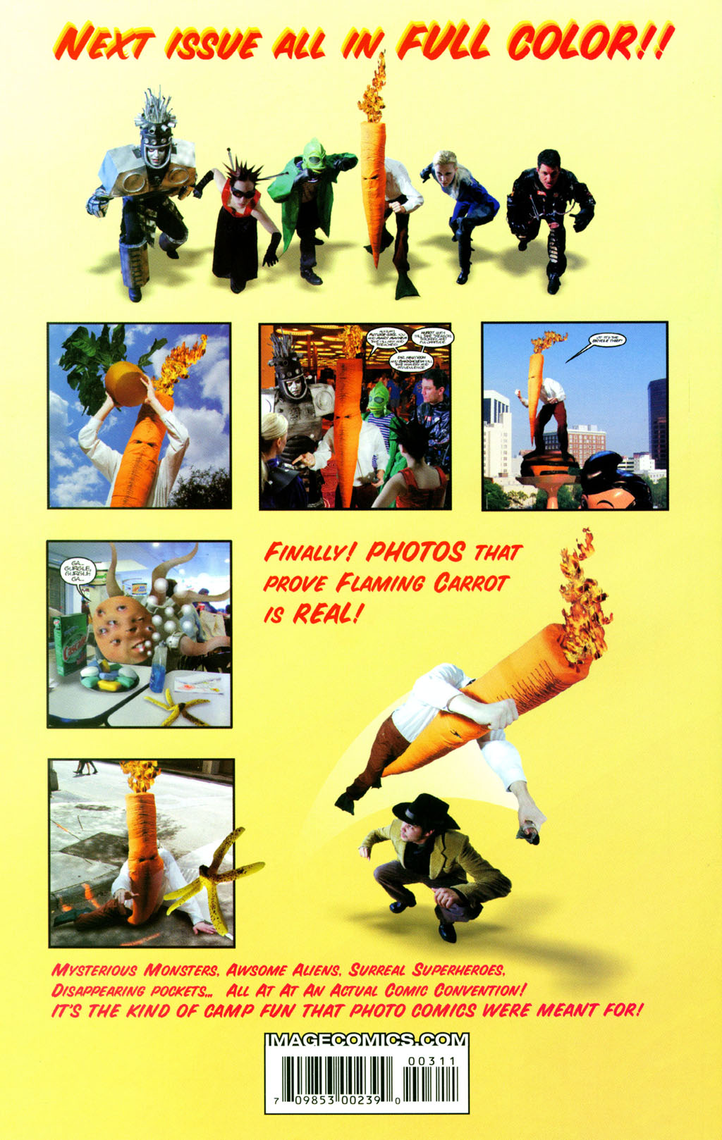 Read online Flaming Carrot Comics (2004) comic -  Issue #3 - 32