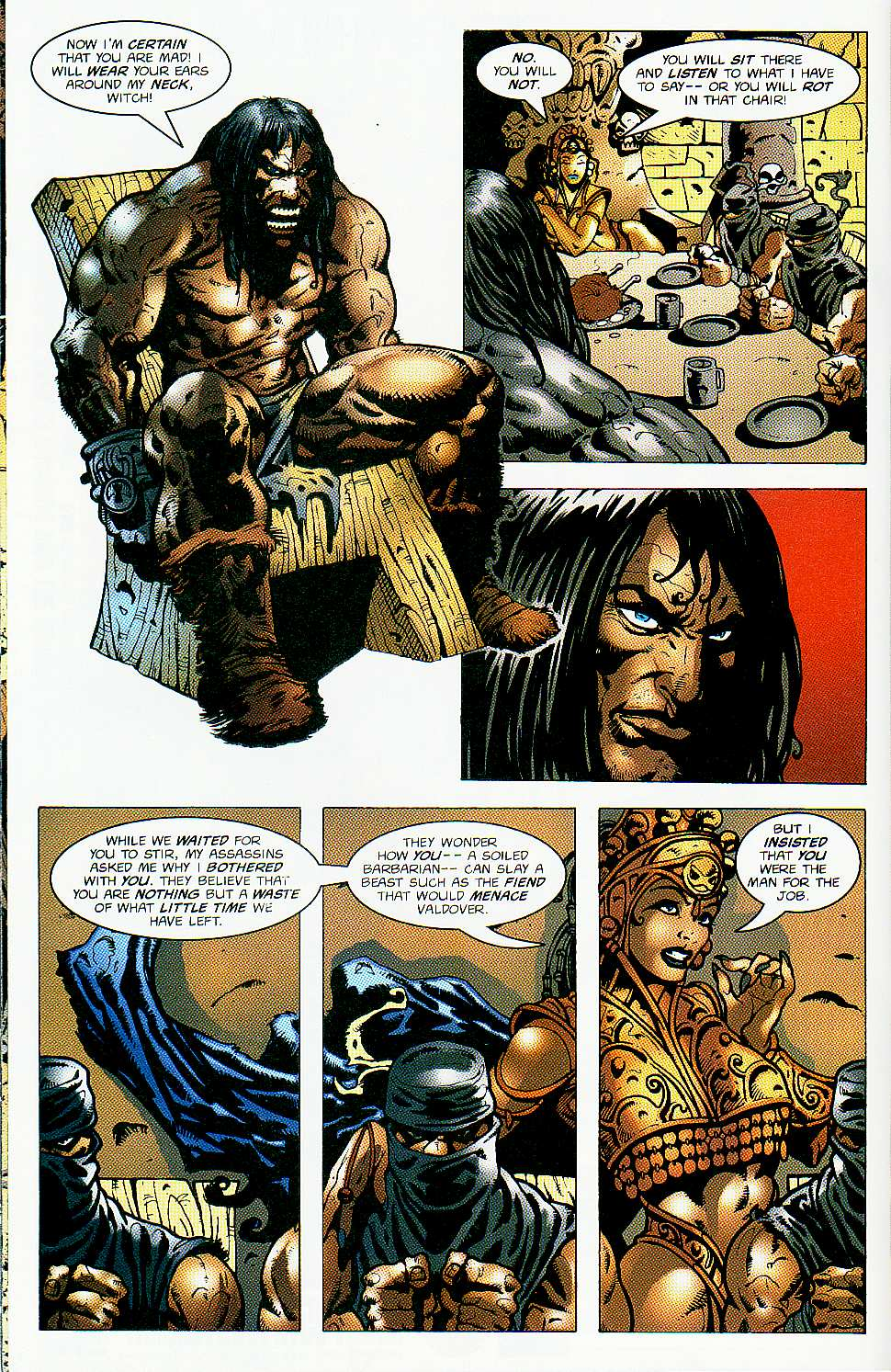 Read online Conan: Return of Styrm comic -  Issue #1 - 15