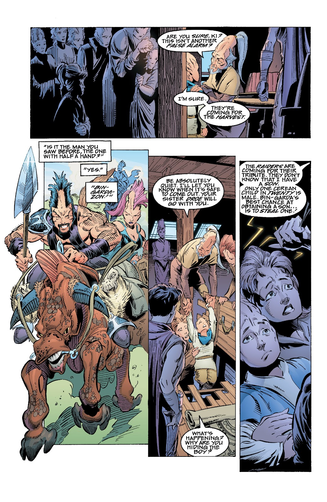 Read online Star Wars Legends: Rise of the Sith - Epic Collection comic -  Issue # TPB 1 (Part 1) - 66