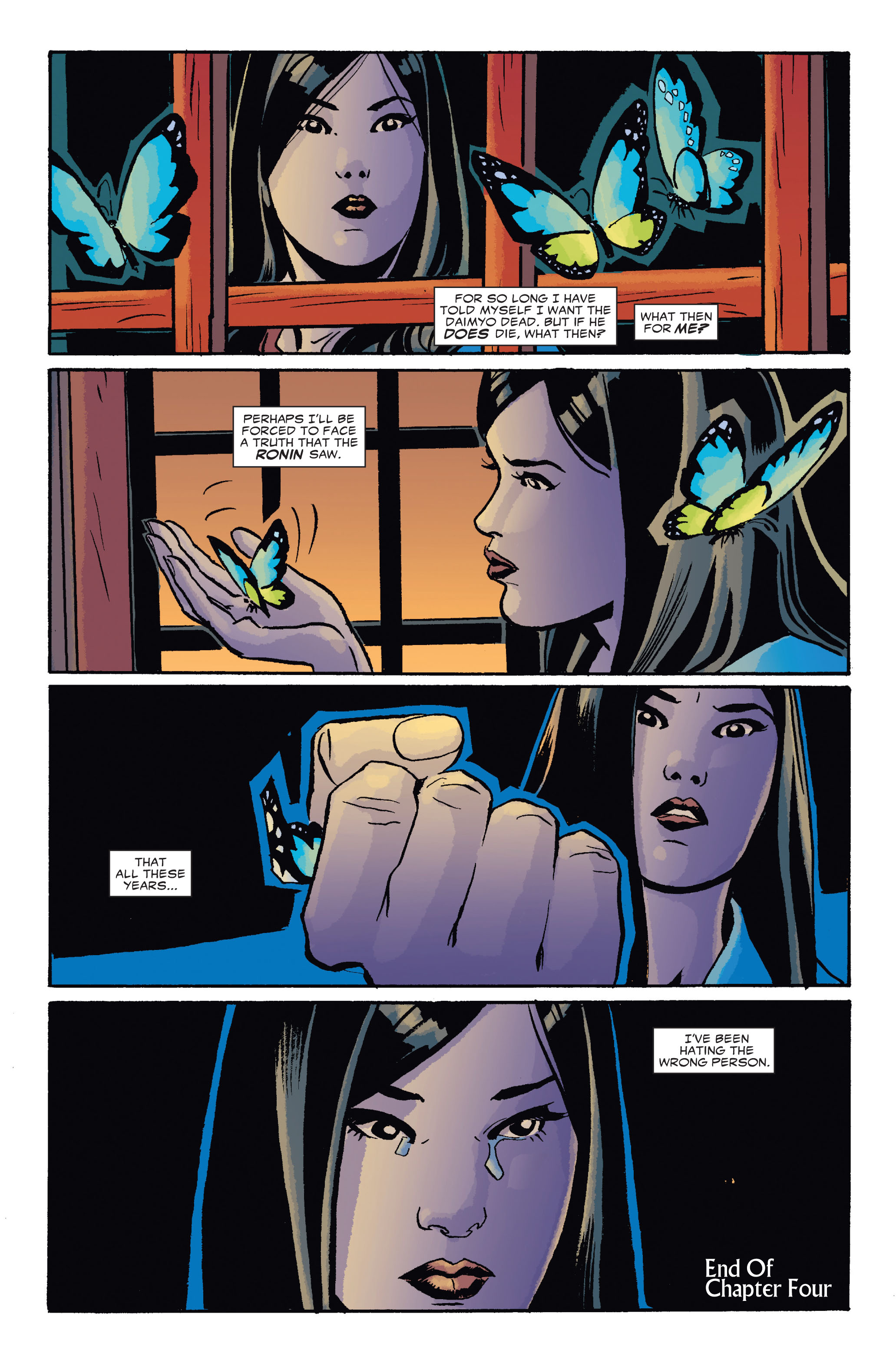 Read online 5 Ronin (2011) comic -  Issue #4 - 23