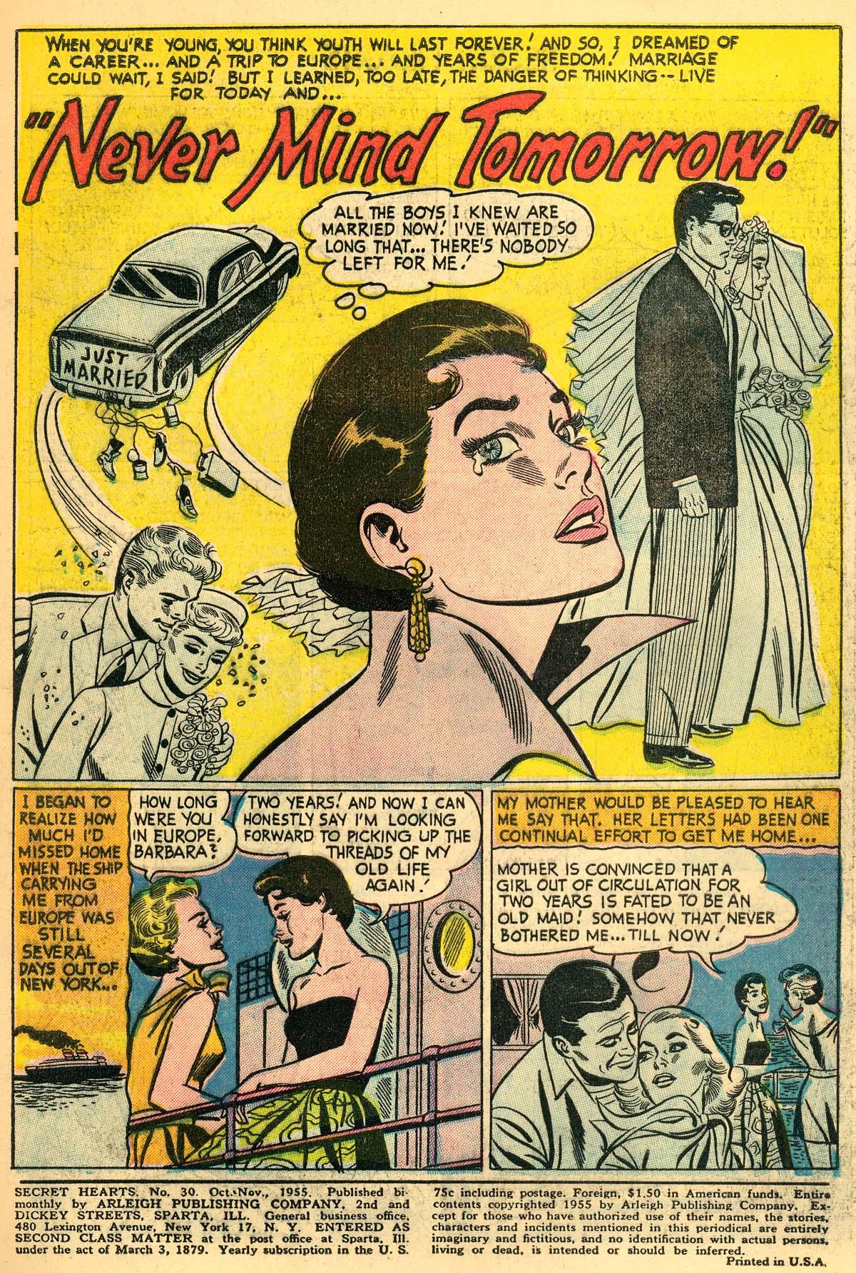 Read online Secret Hearts comic -  Issue #30 - 3