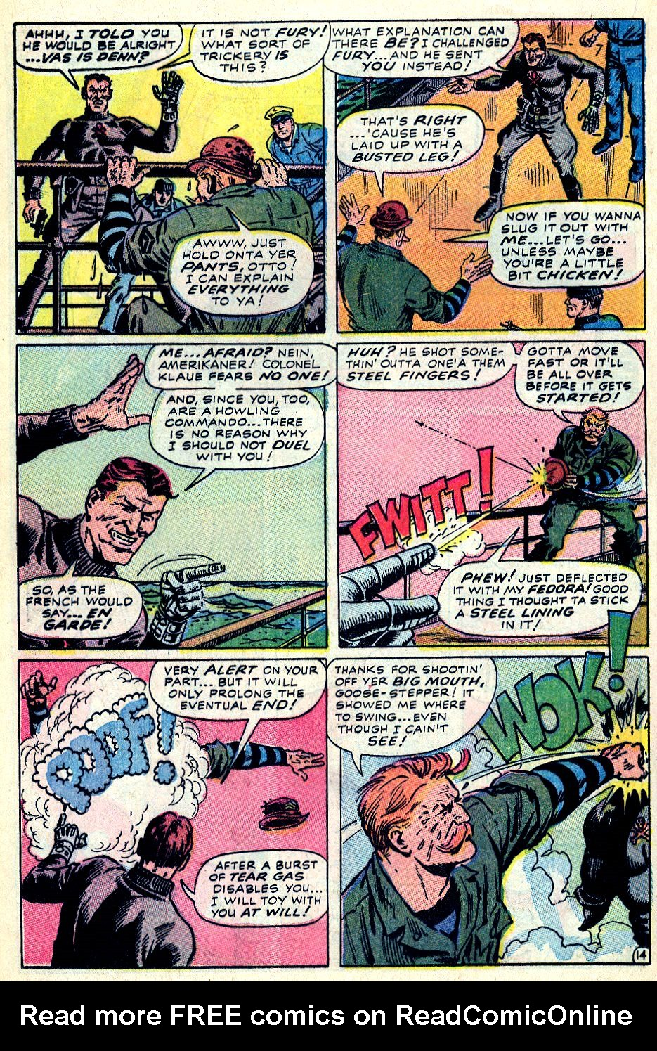 Read online Sgt. Fury comic -  Issue #59 - 20