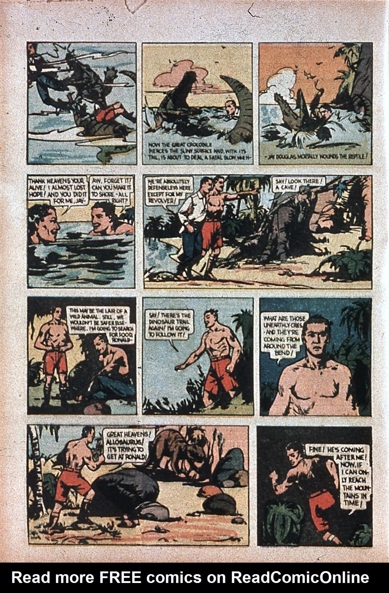 Read online Amazing Man Comics comic -  Issue #7 - 15