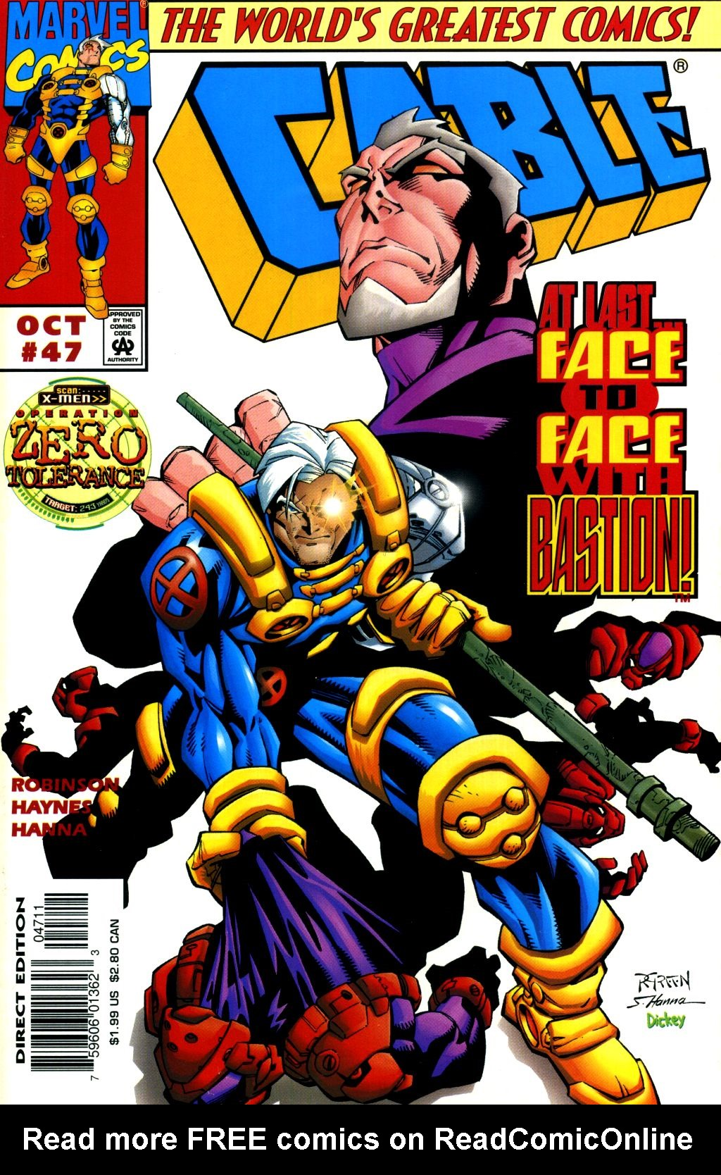Cable (1993) 47 Page 1