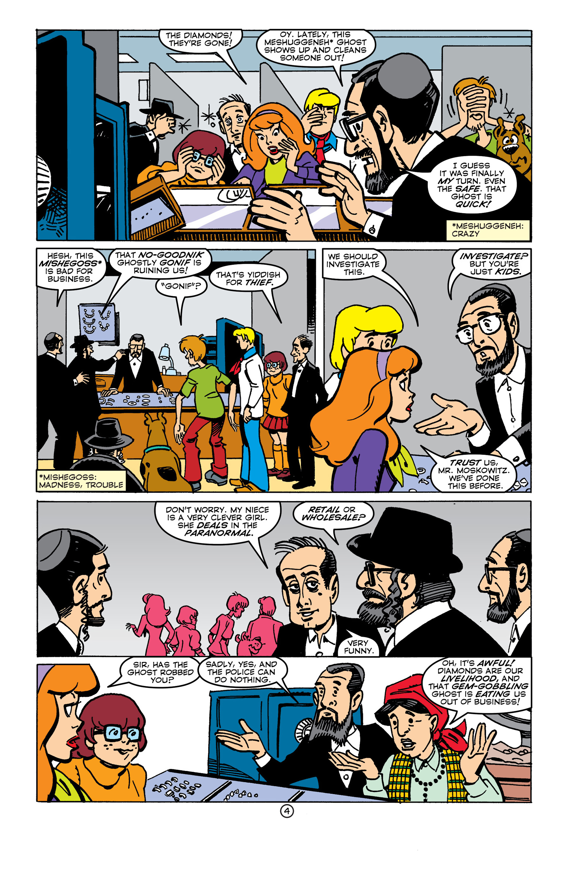 Read online Scooby-Doo (1997) comic -  Issue #45 - 4