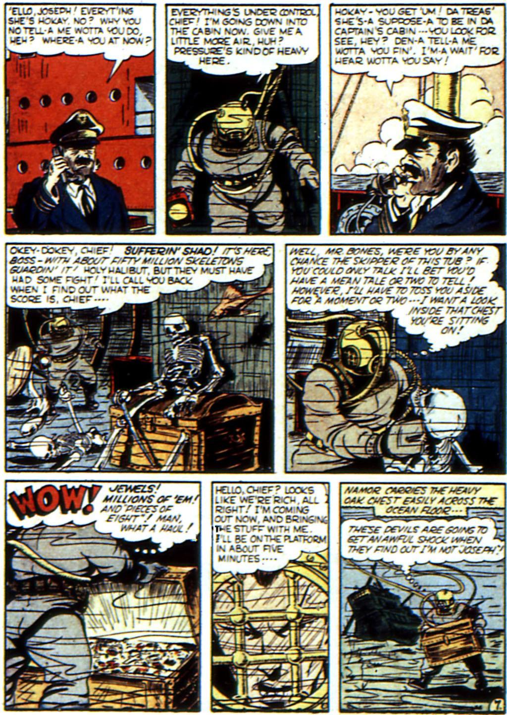 Read online All-Winners Comics comic -  Issue #3 - 49