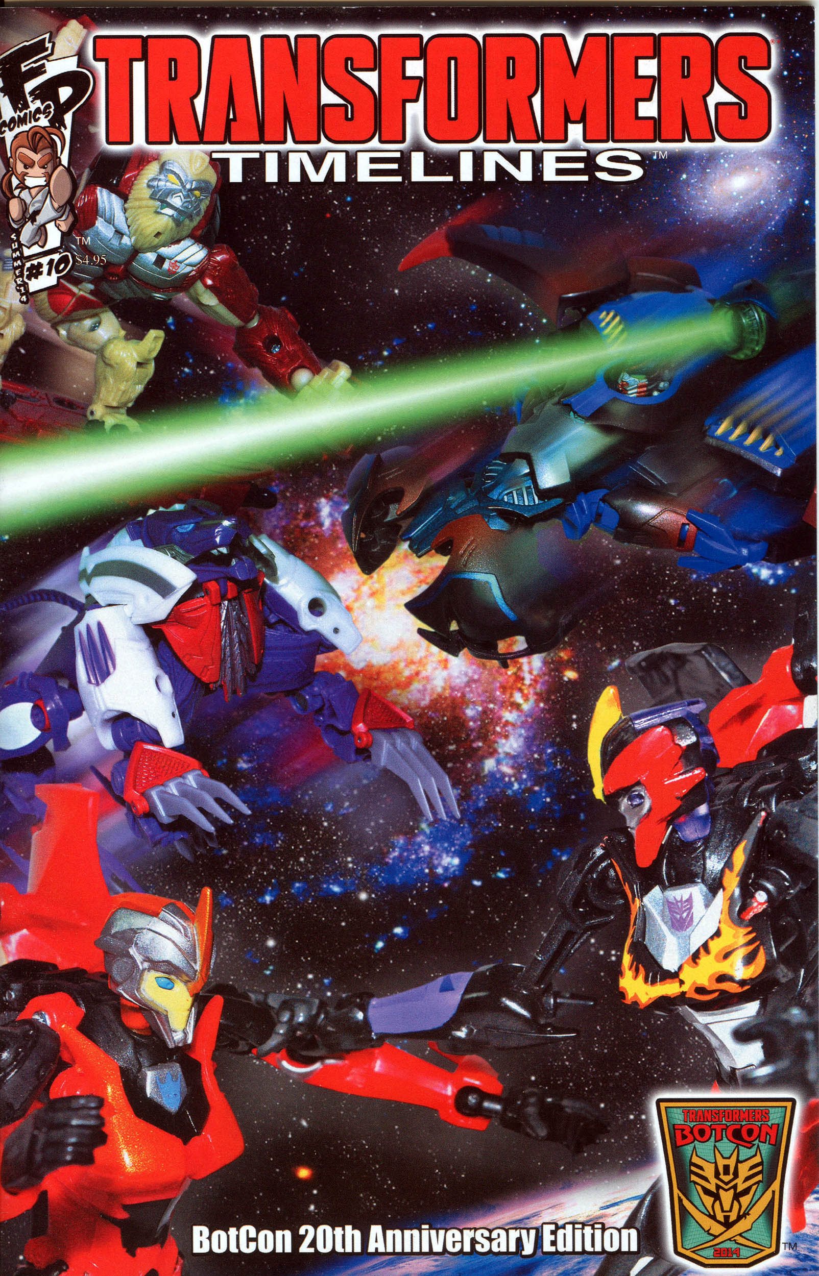 Read online Transformers: Timelines comic -  Issue #10 - 1