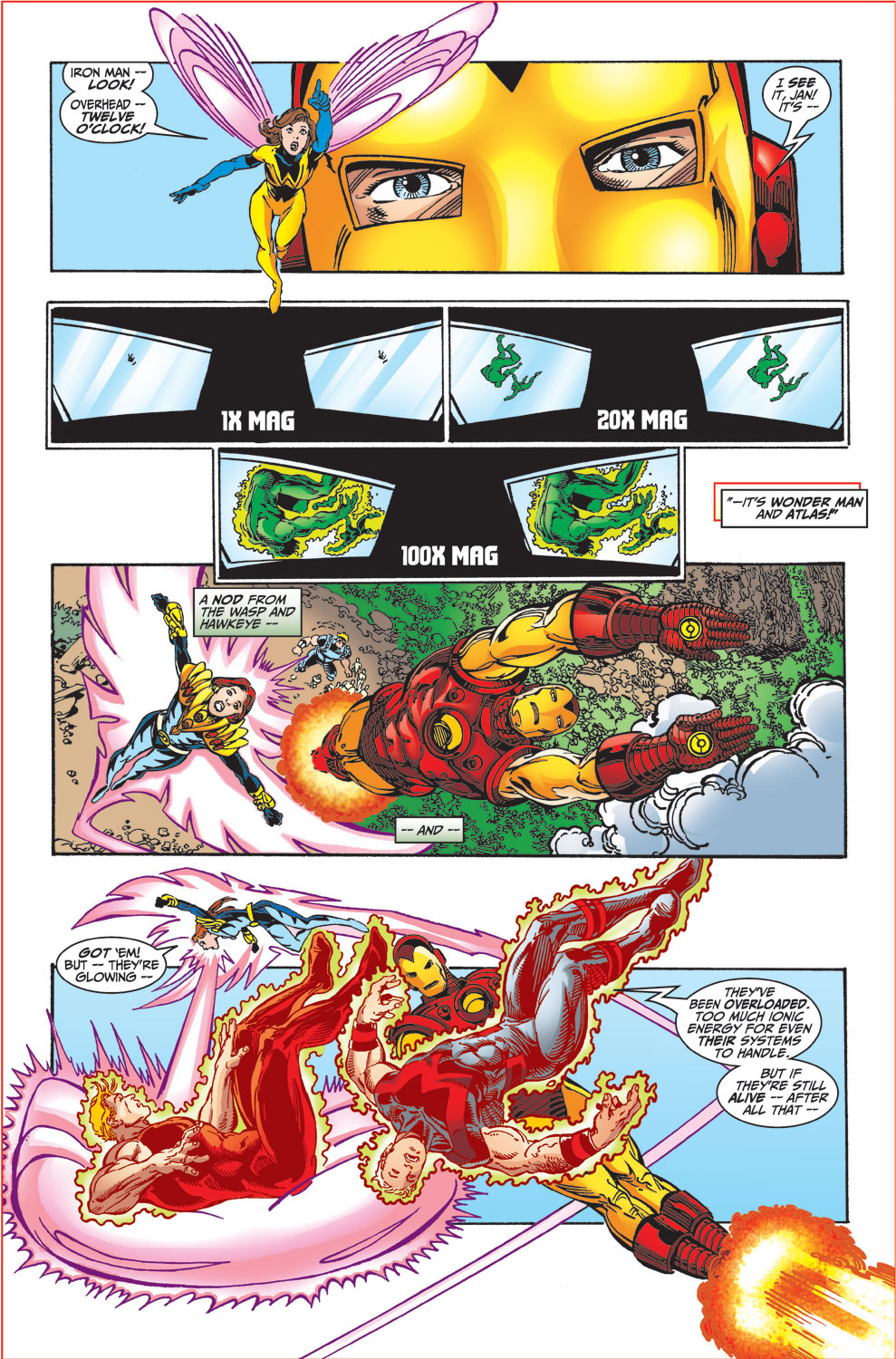Read online Avengers (1998) comic -  Issue #34 - 33