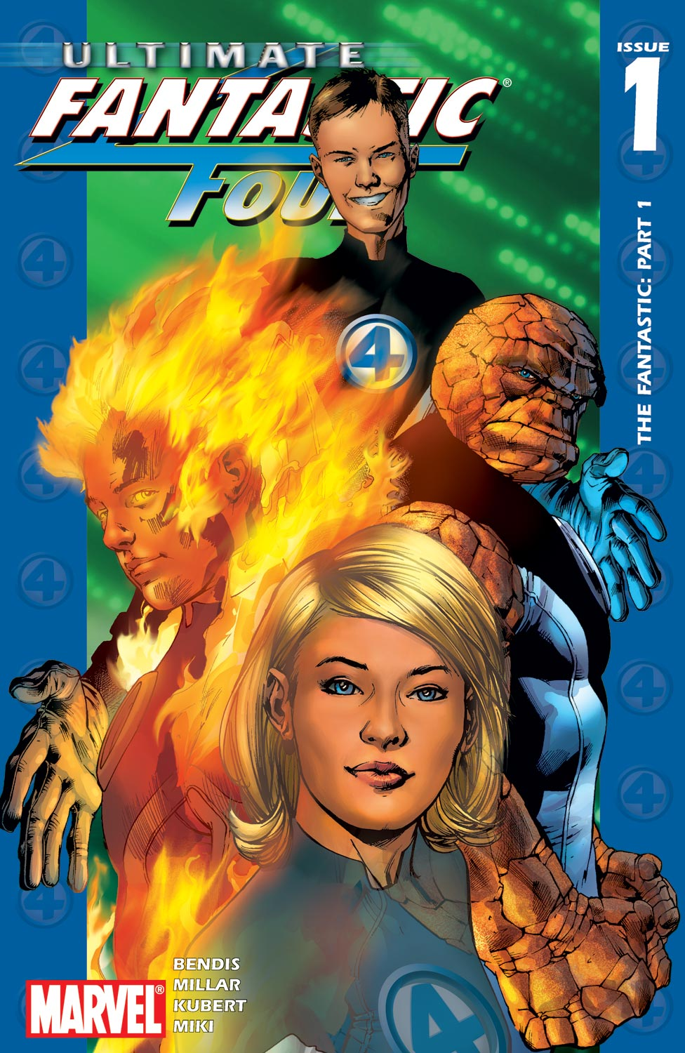 Read online Ultimate Fantastic Four (2004) comic -  Issue #1 - 1