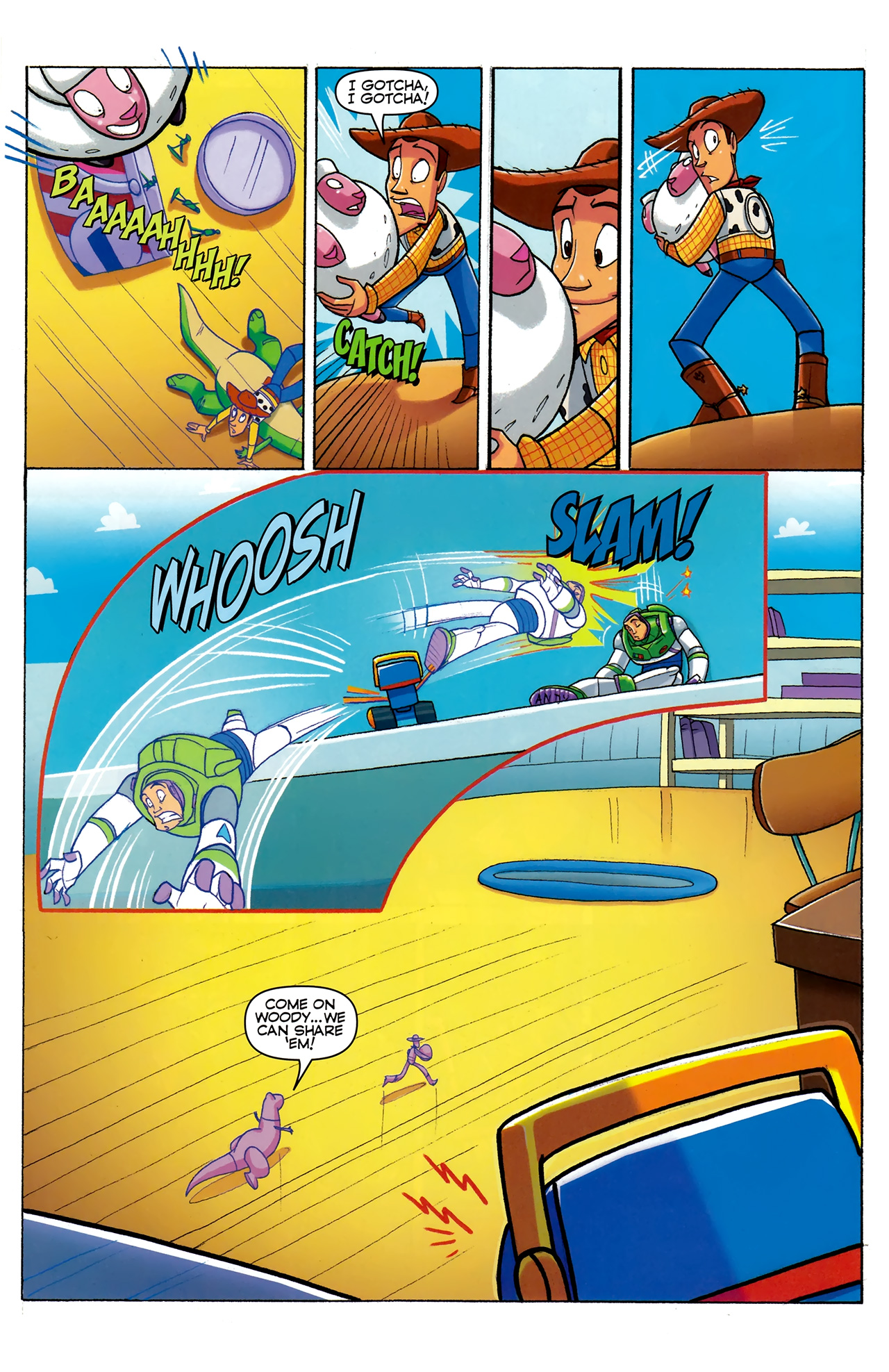 Read online Toy Story (2009) comic -  Issue #5 - 17