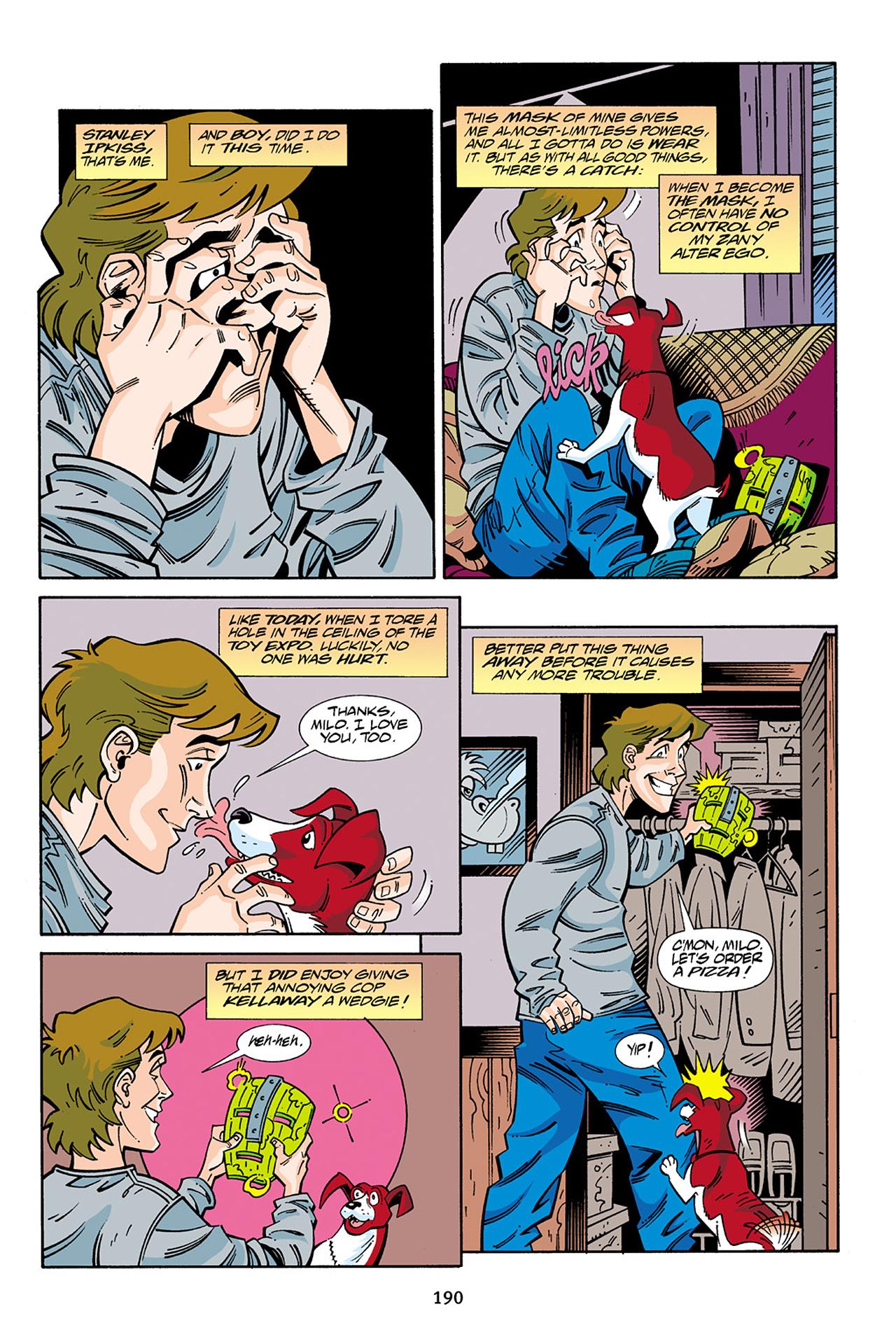 Read online Adventures Of The Mask Omnibus comic -  Issue #Adventures Of The Mask Omnibus Full - 189
