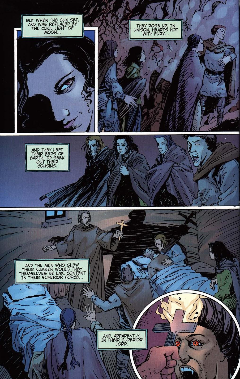 Read online Vampire the Masquerade comic -  Issue # Toreador - 34