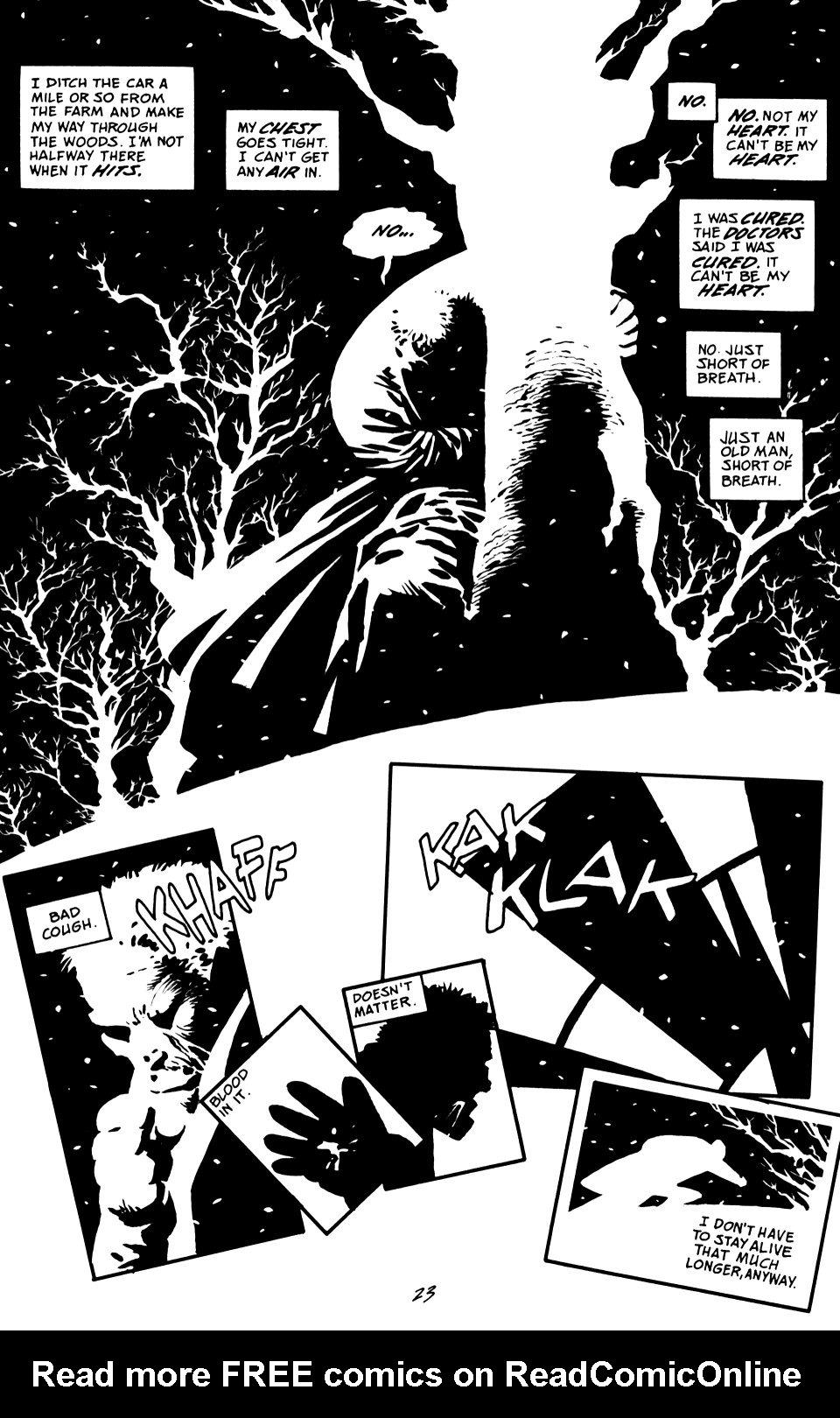 Read online Sin City: That Yellow Bastard comic -  Issue #6 - 23