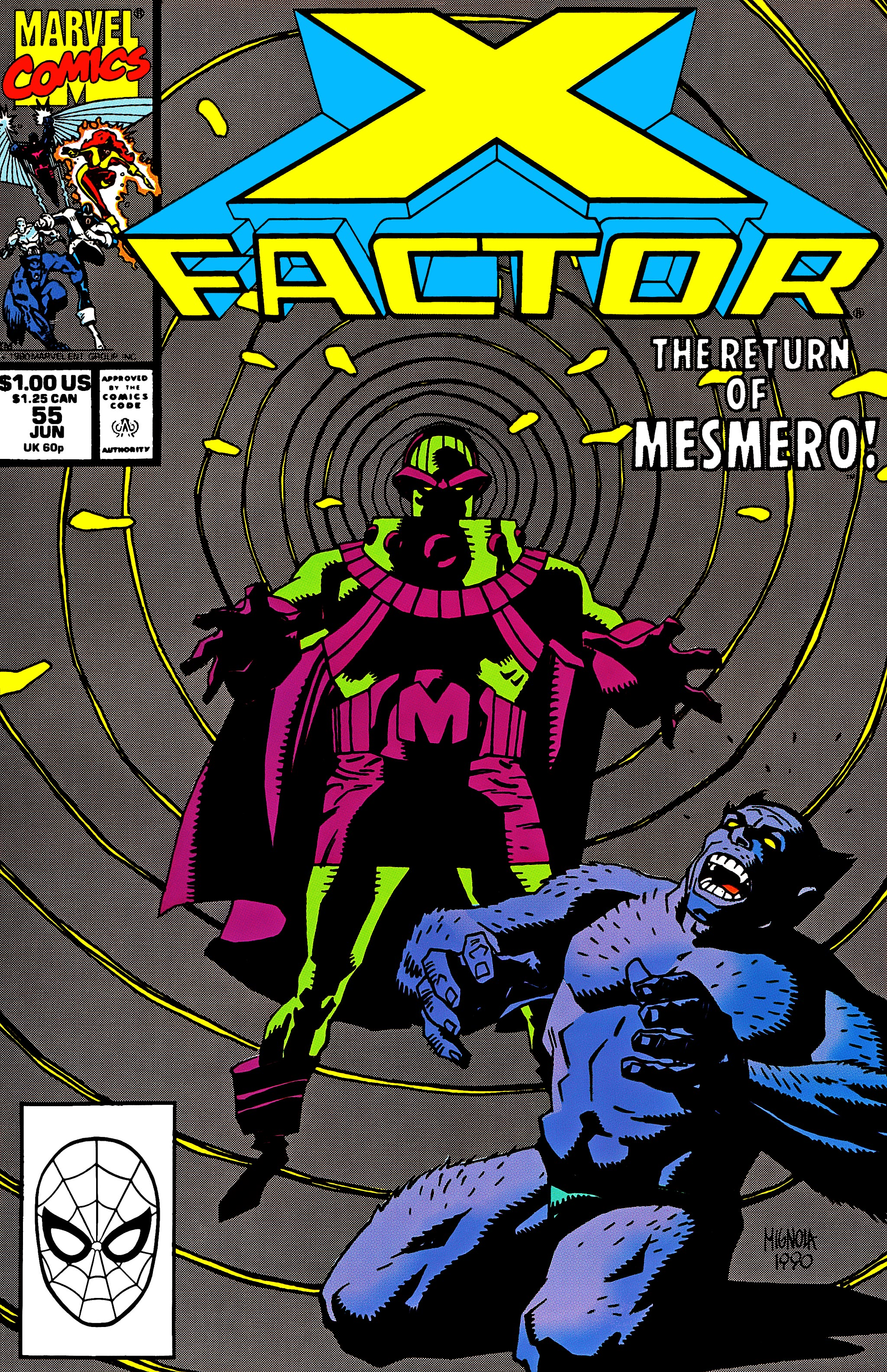 Read online X-Factor (1986) comic -  Issue #55 - 1