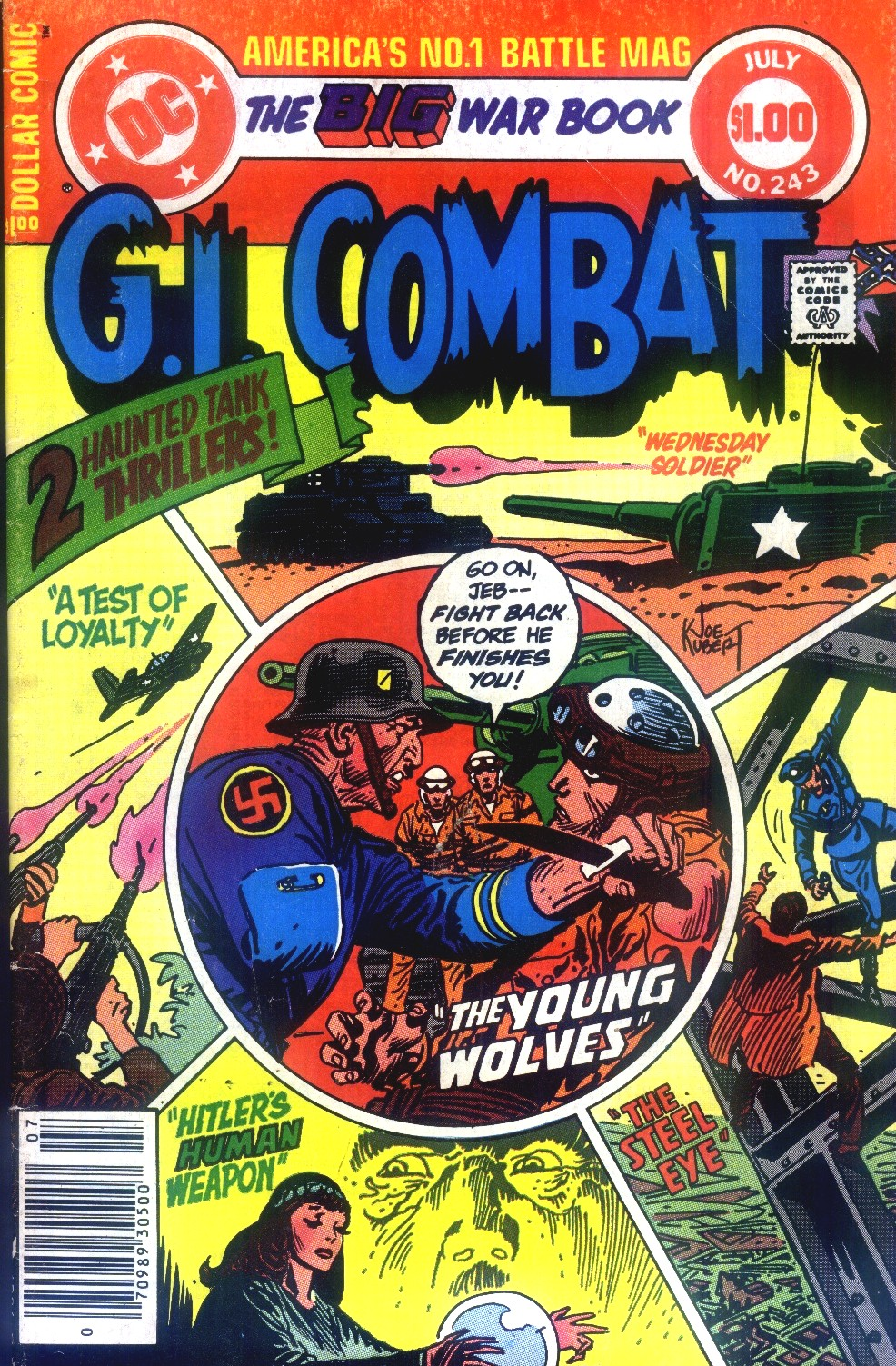 G.I. Combat (1952) issue 243 - Page 1
