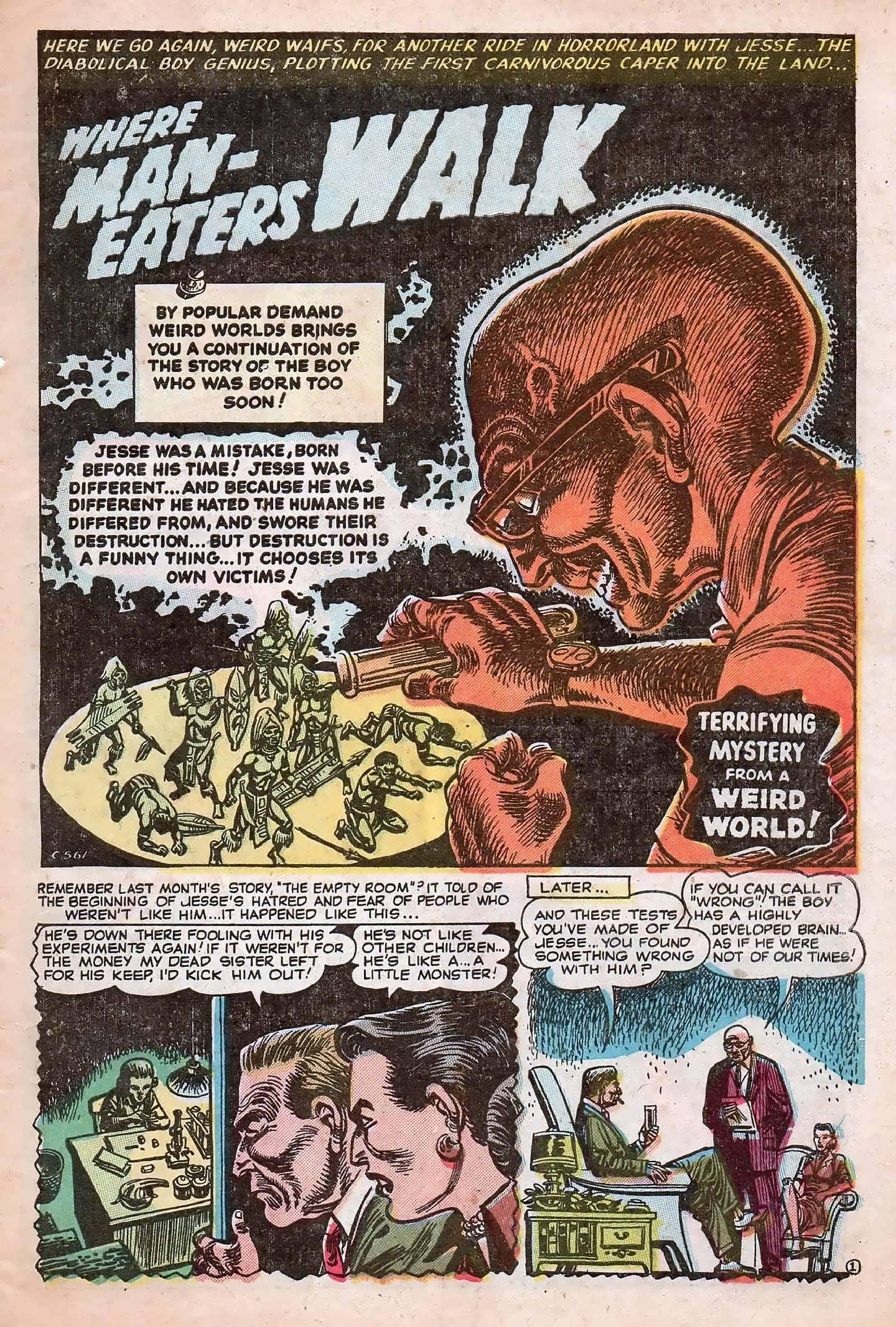 Read online Adventures into Weird Worlds comic -  Issue #20 - 3