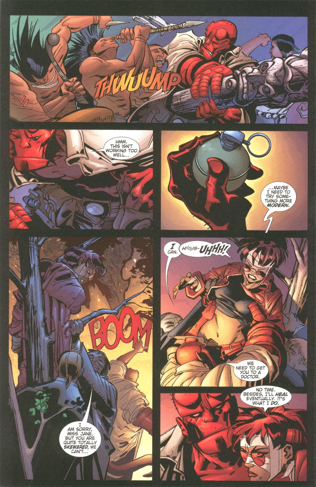 Read online Painkiller Jane/Hellboy comic -  Issue # Full - 16