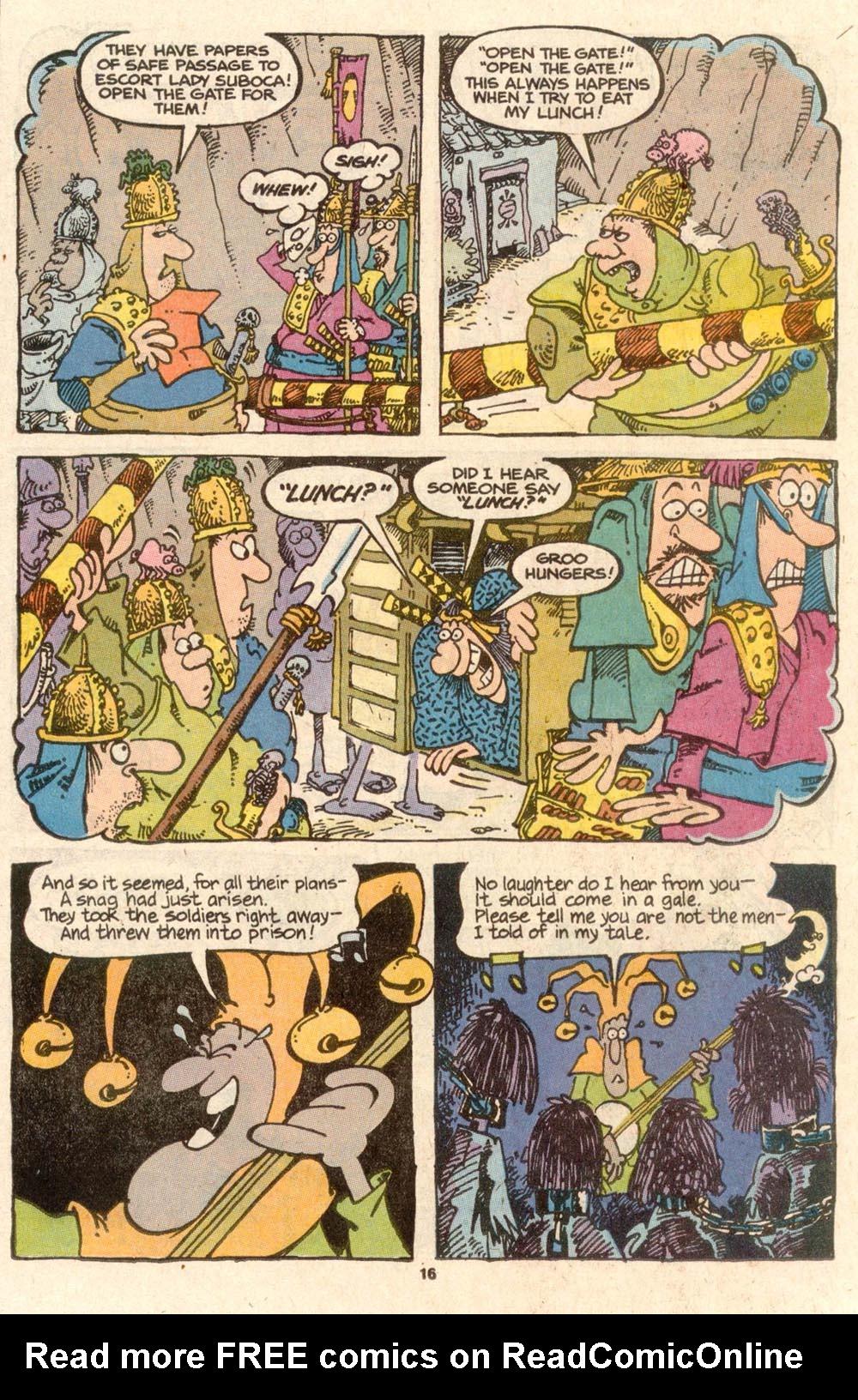 Read online Sergio Aragonés Groo the Wanderer comic -  Issue #56 - 15