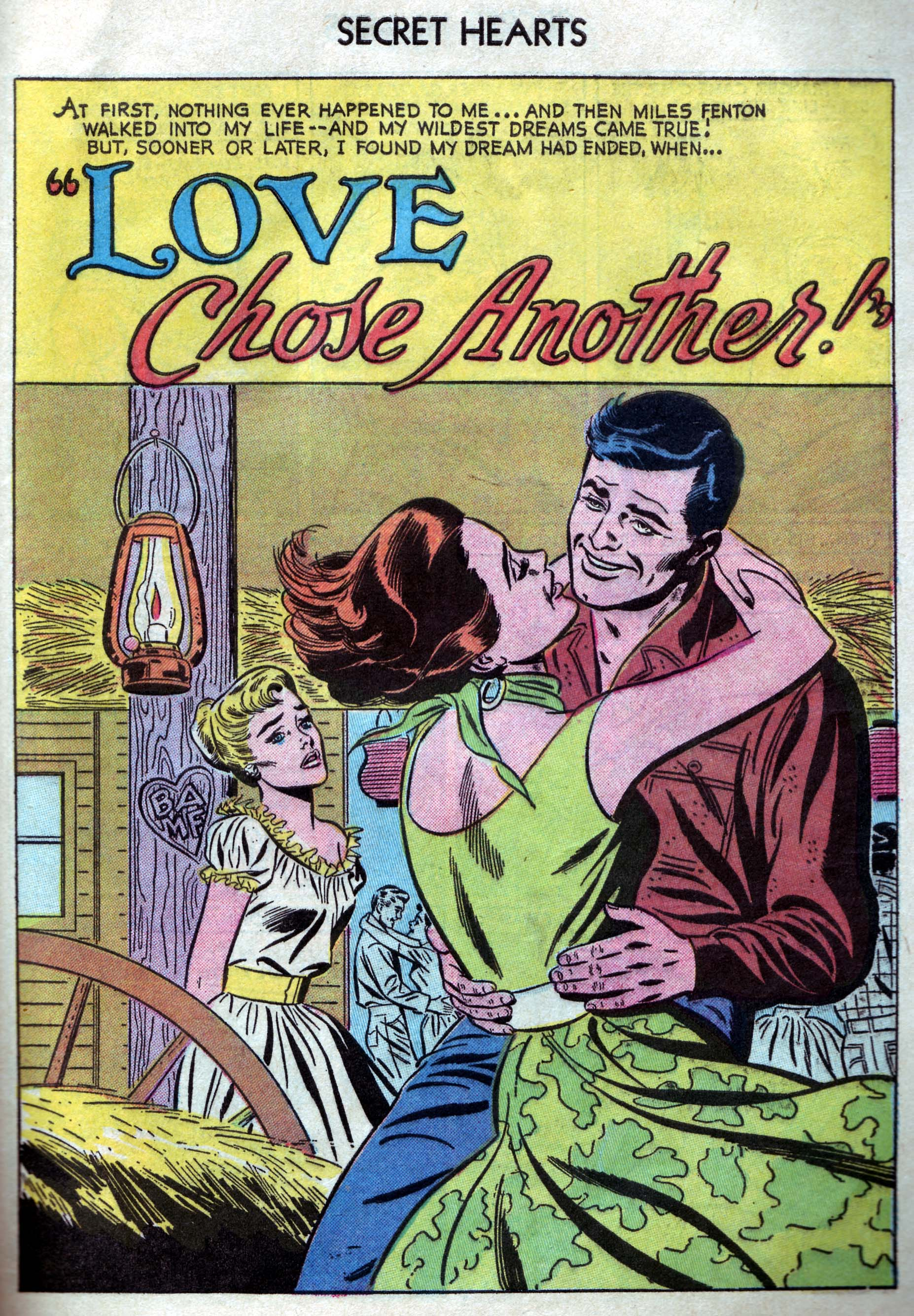 Read online Secret Hearts comic -  Issue #33 - 27