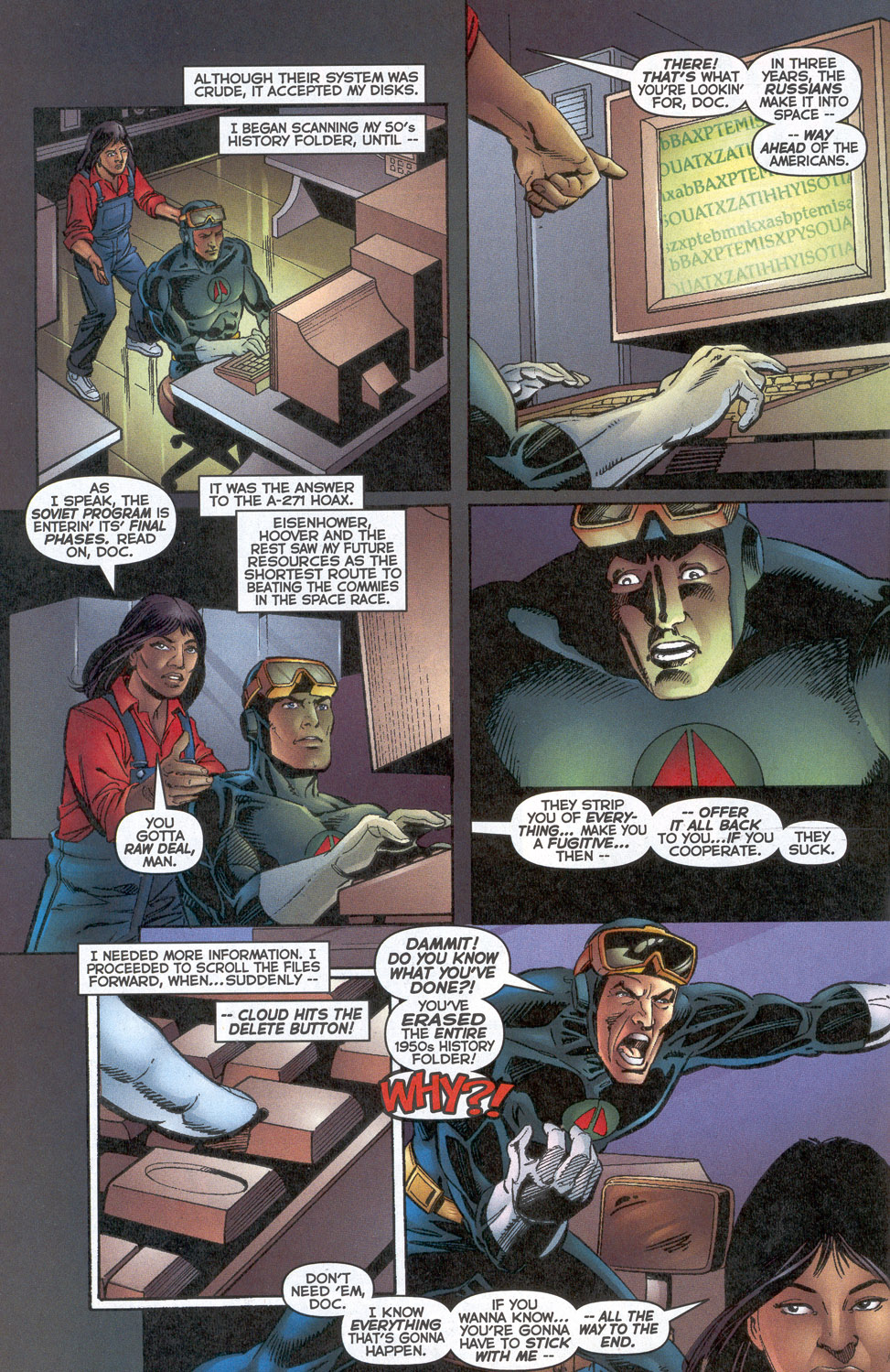 Read online Doctor Tomorrow comic -  Issue #6 - 16