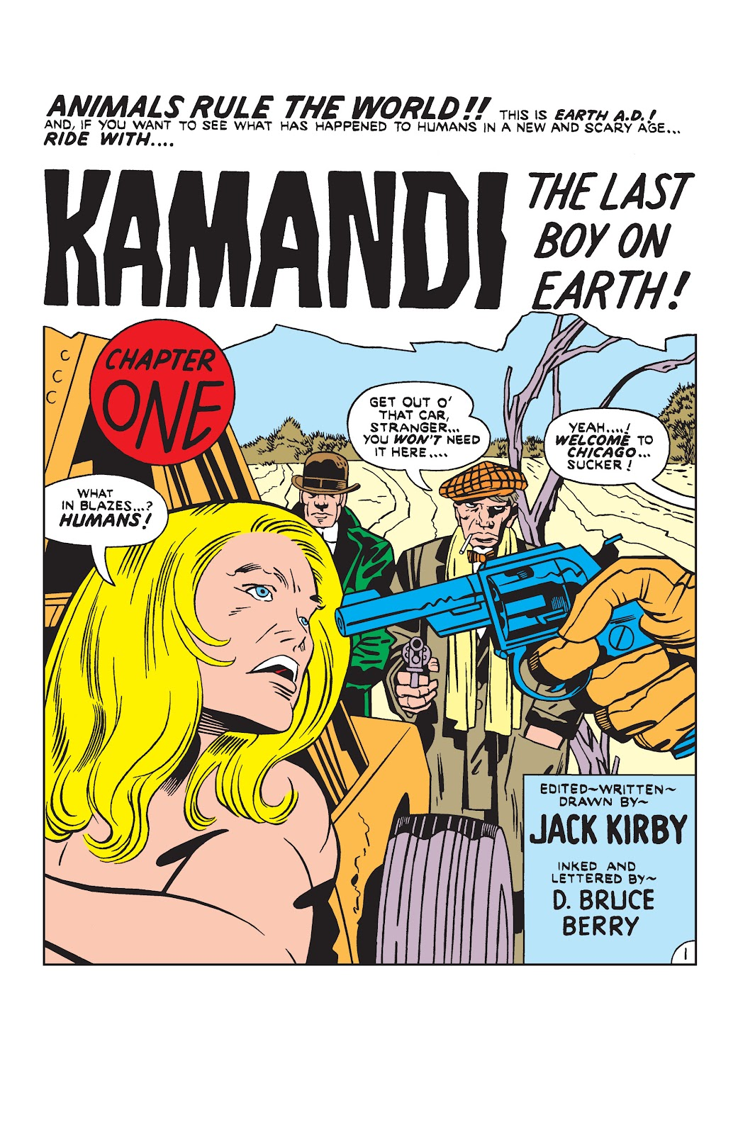 Kamandi, The Last Boy On Earth issue 19 - Page 2