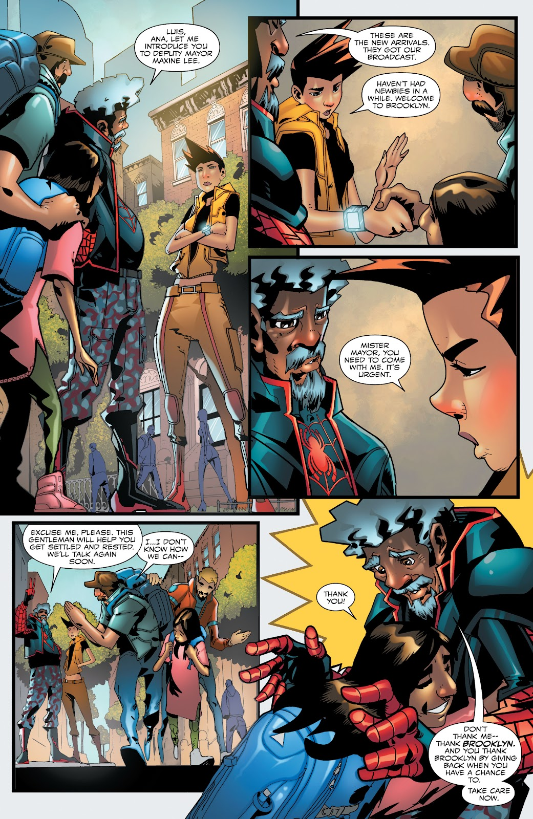 Read online Miles Morales: The End comic -  Issue # Full - 9