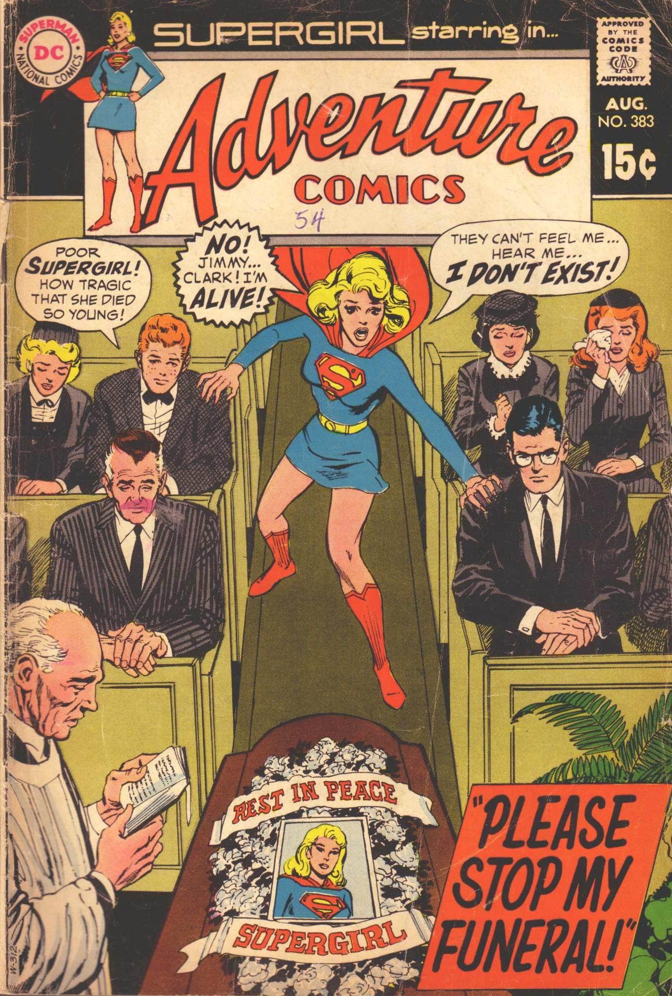 Read online Adventure Comics (1938) comic -  Issue #383 - 1