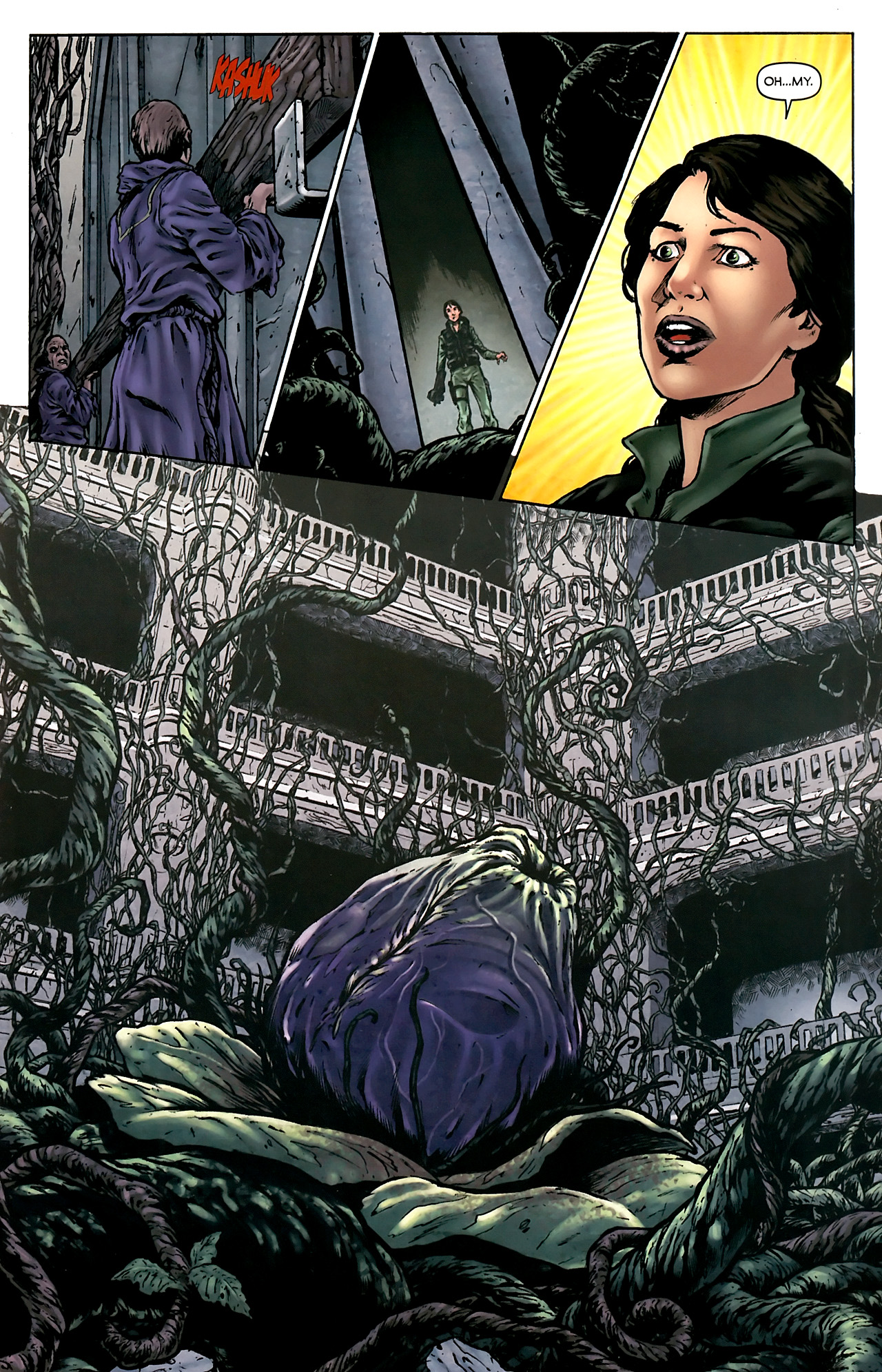 Read online Stargate Vala Mal Doran comic -  Issue #4 - 14