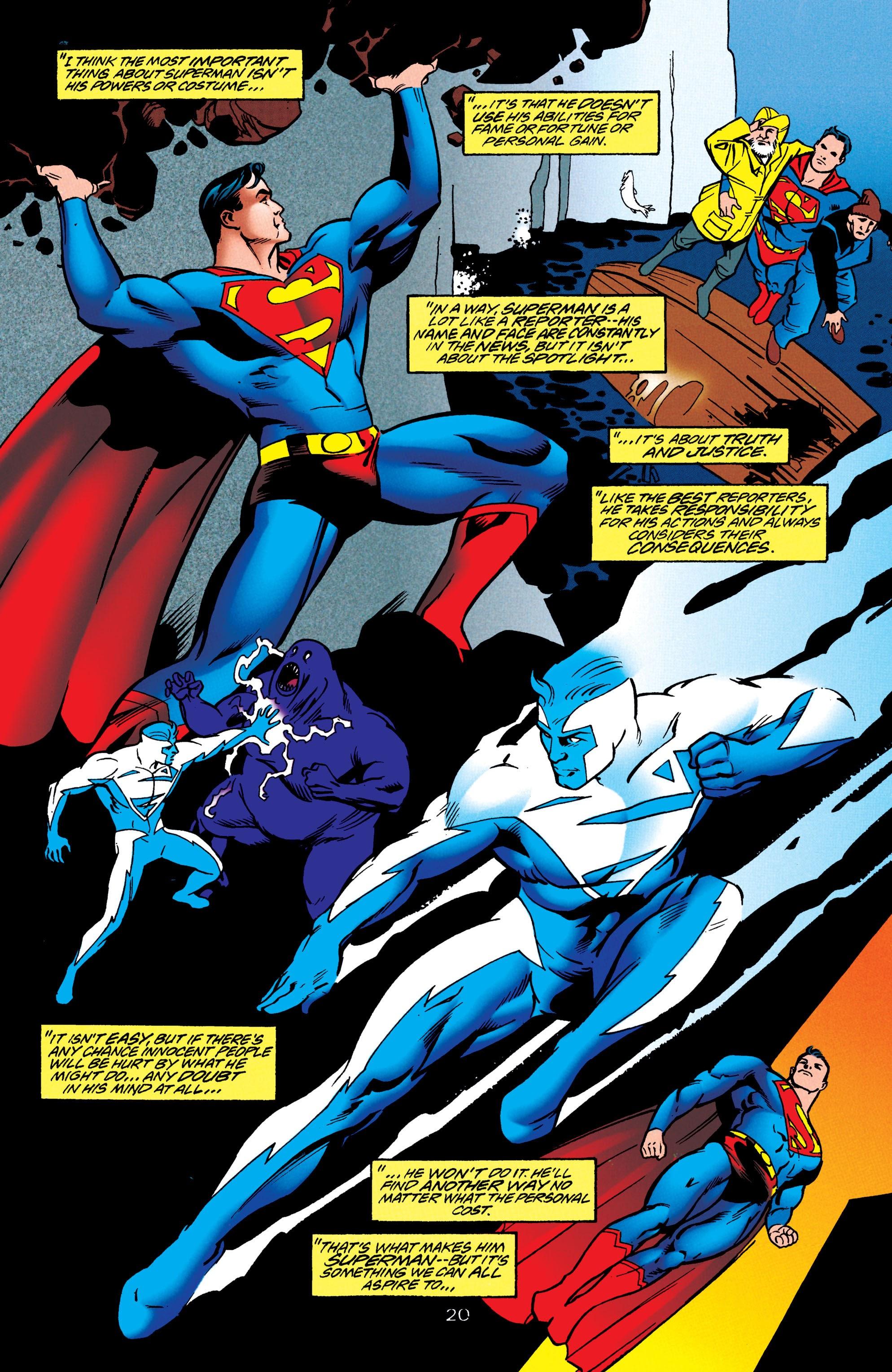 Adventures of Superman (1987) issue 550 - Page 21