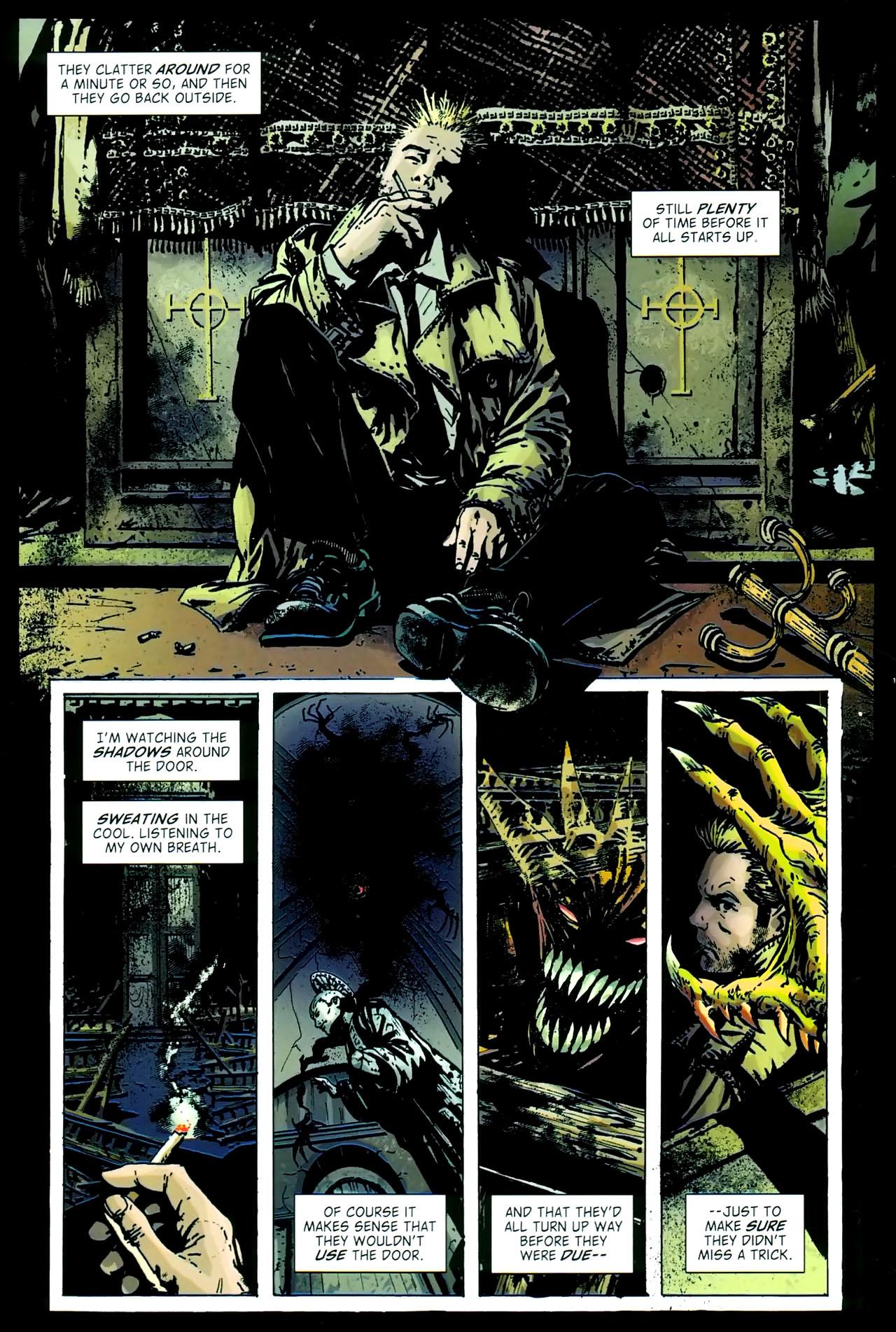 Read online John Constantine Hellblazer: All His Engines comic -  Issue # Full - 78