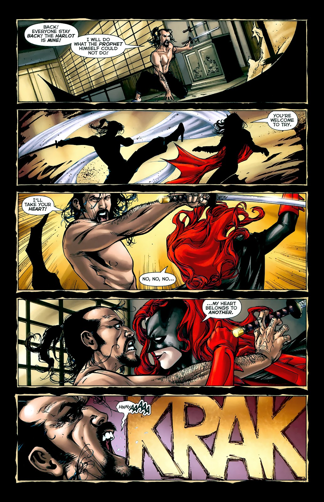 Crime Bible: The Five Lessons of Blood issue 3 - Page 13
