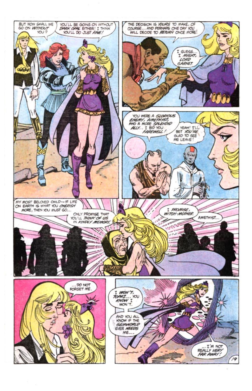 Read online Amethyst, Princess of Gemworld comic -  Issue #12 - 20