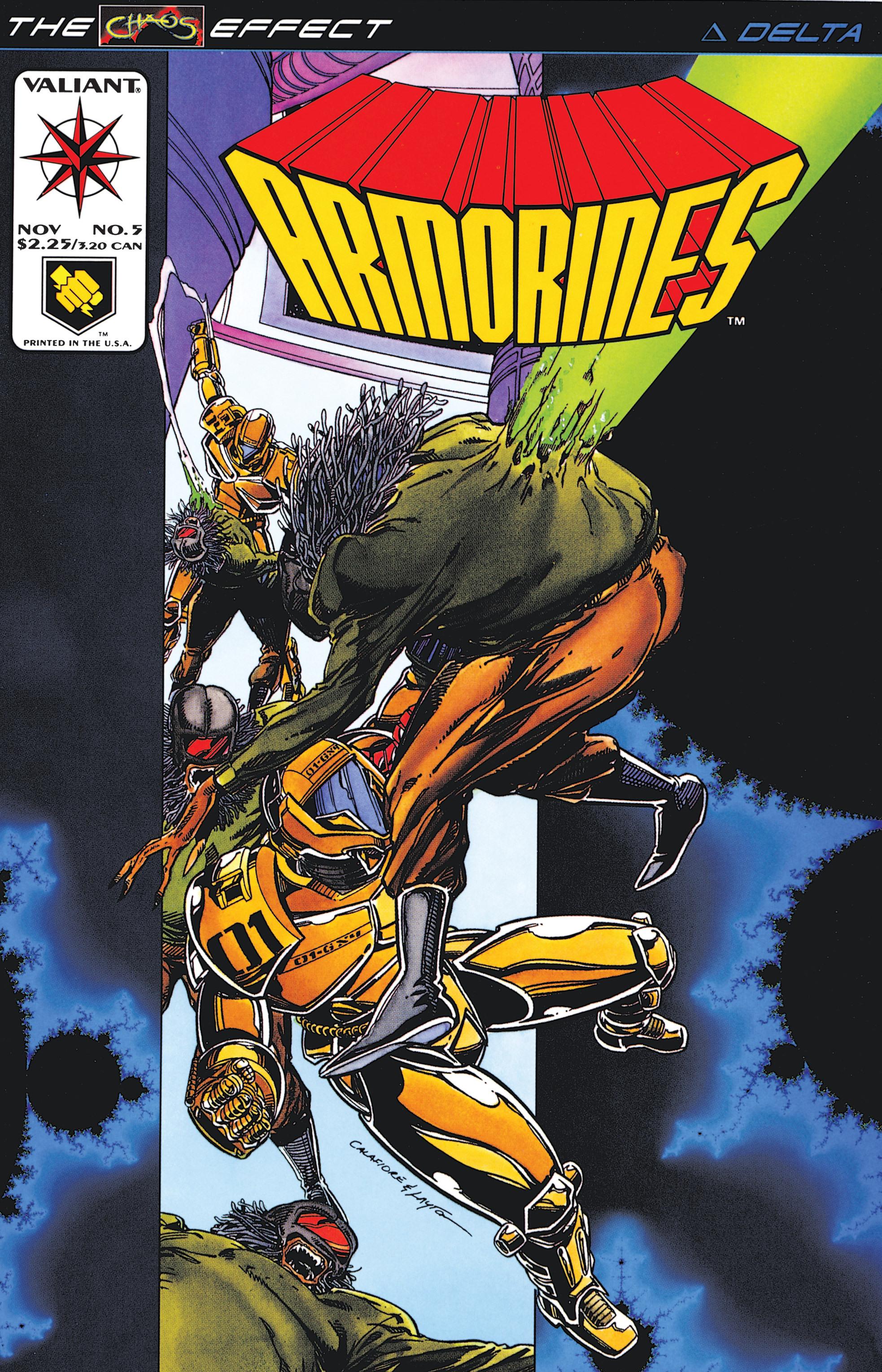 Armorines (1994) 5 Page 1