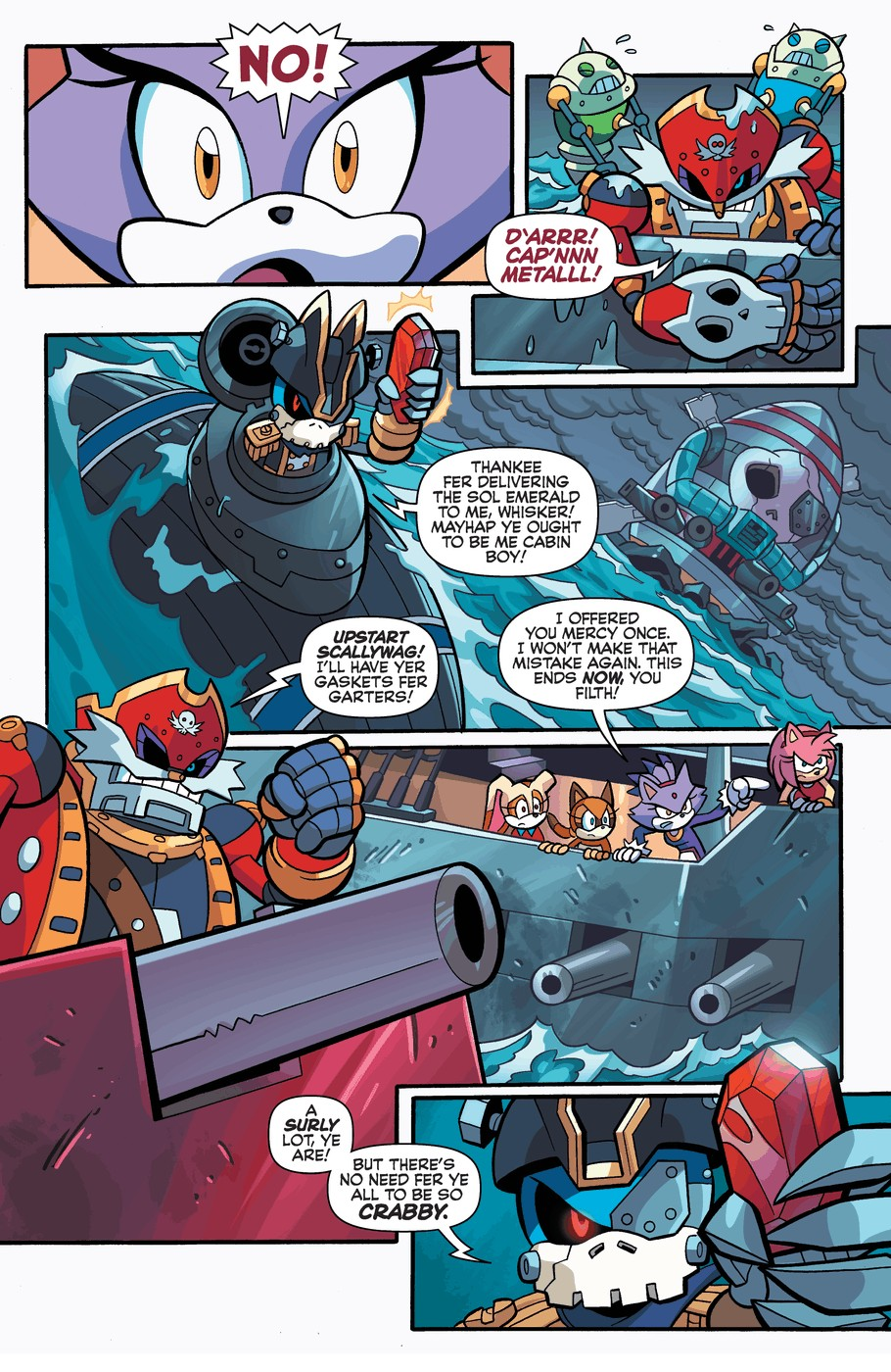 Read online Sonic Universe comic -  Issue #57 - 21