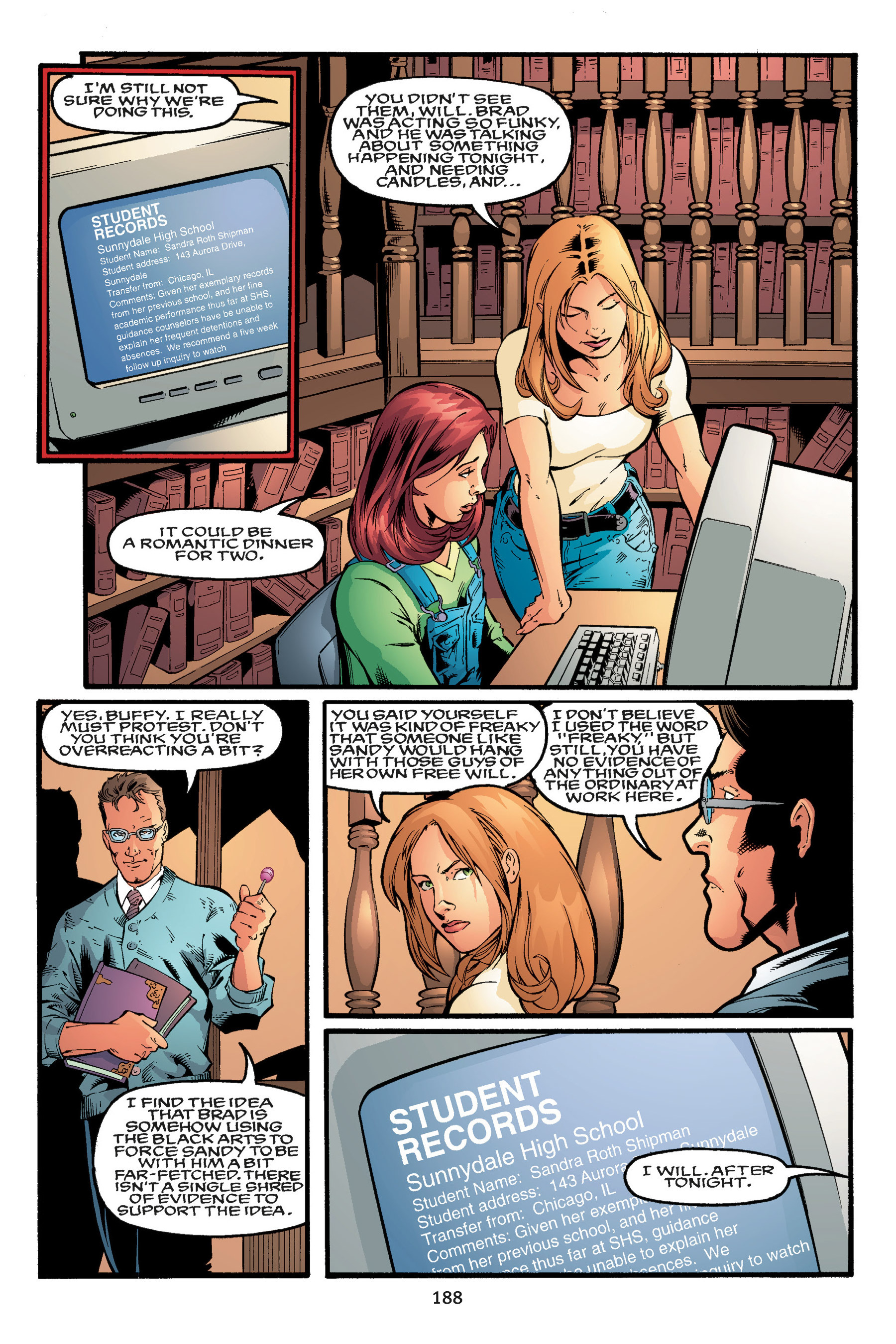 Read online Buffy the Vampire Slayer: Omnibus comic -  Issue # TPB 3 - 182