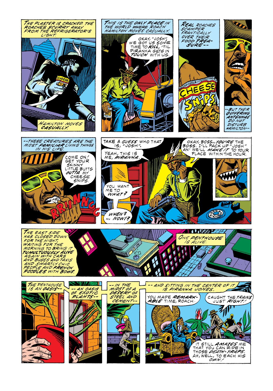 Read online Marvel Masterworks: Luke Cage, Power Man comic -  Issue # TPB 2 (Part 3) - 66