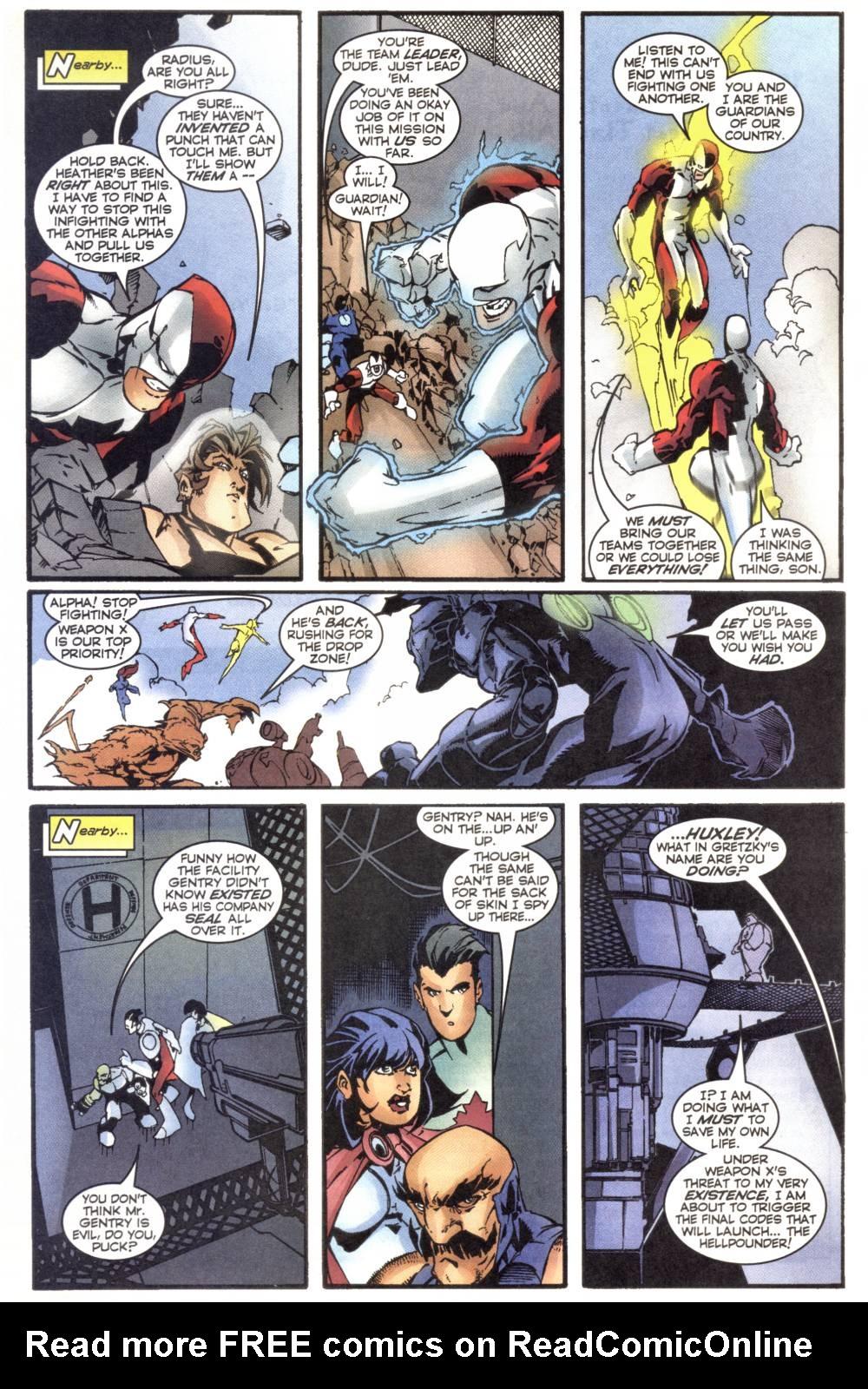 Read online Alpha Flight (1997) comic -  Issue #20 - 13
