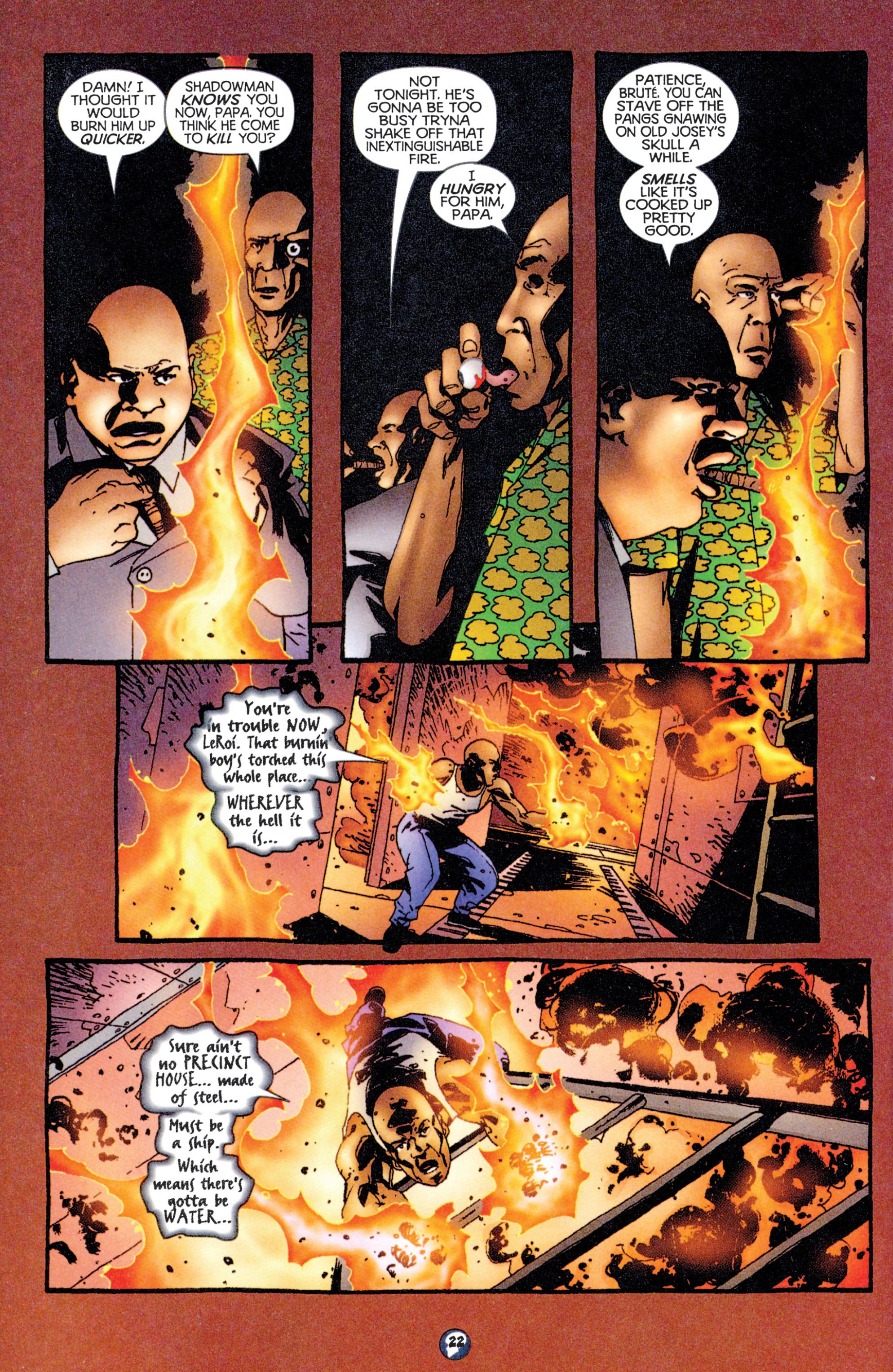 Read online Shadowman (1997) comic -  Issue #12 - 18