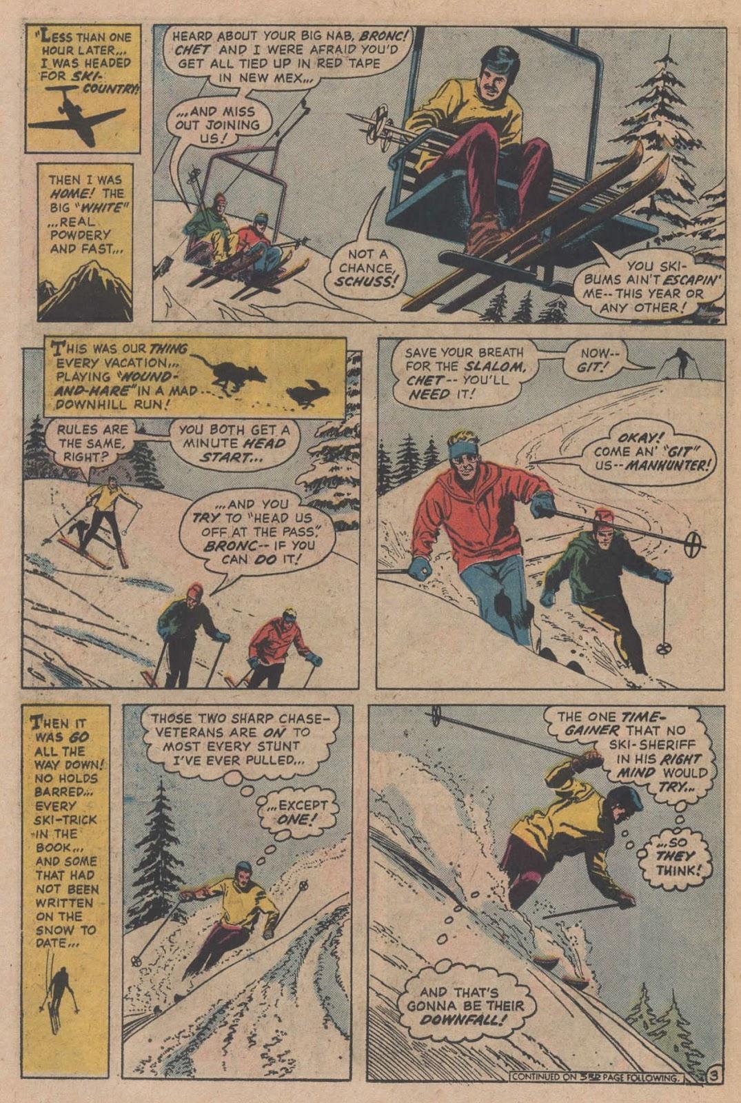 Read online Strange Sports Stories (1973) comic -  Issue #5 - 21