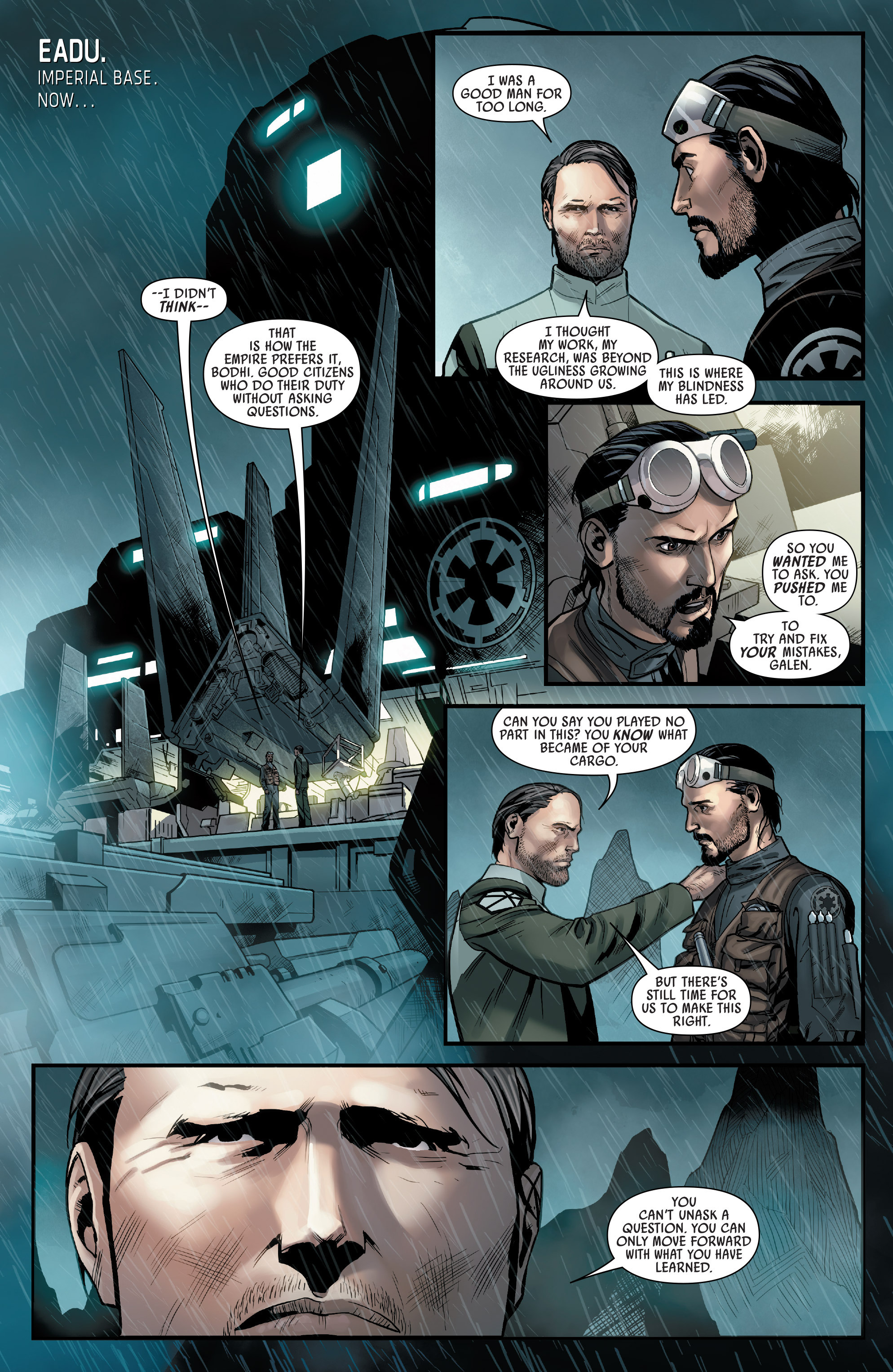 Read online Star Wars: Rogue One Adaptation comic -  Issue #1 - 5