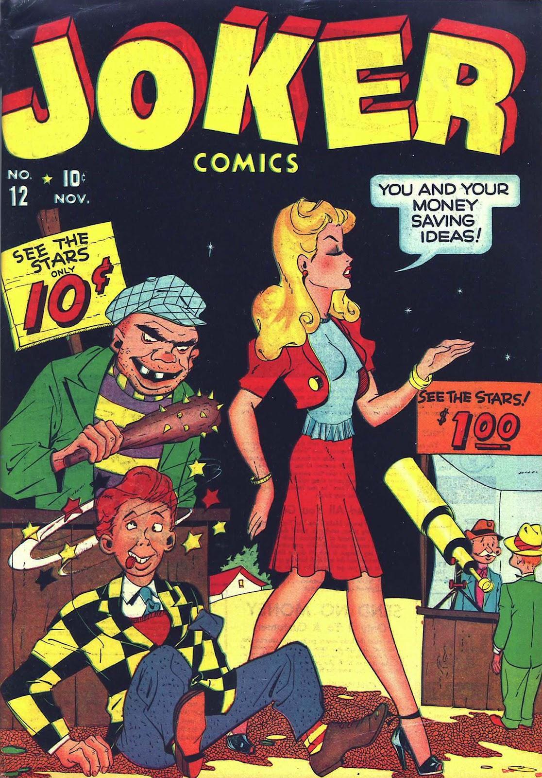 Read online Joker Comics comic -  Issue #12 - 1