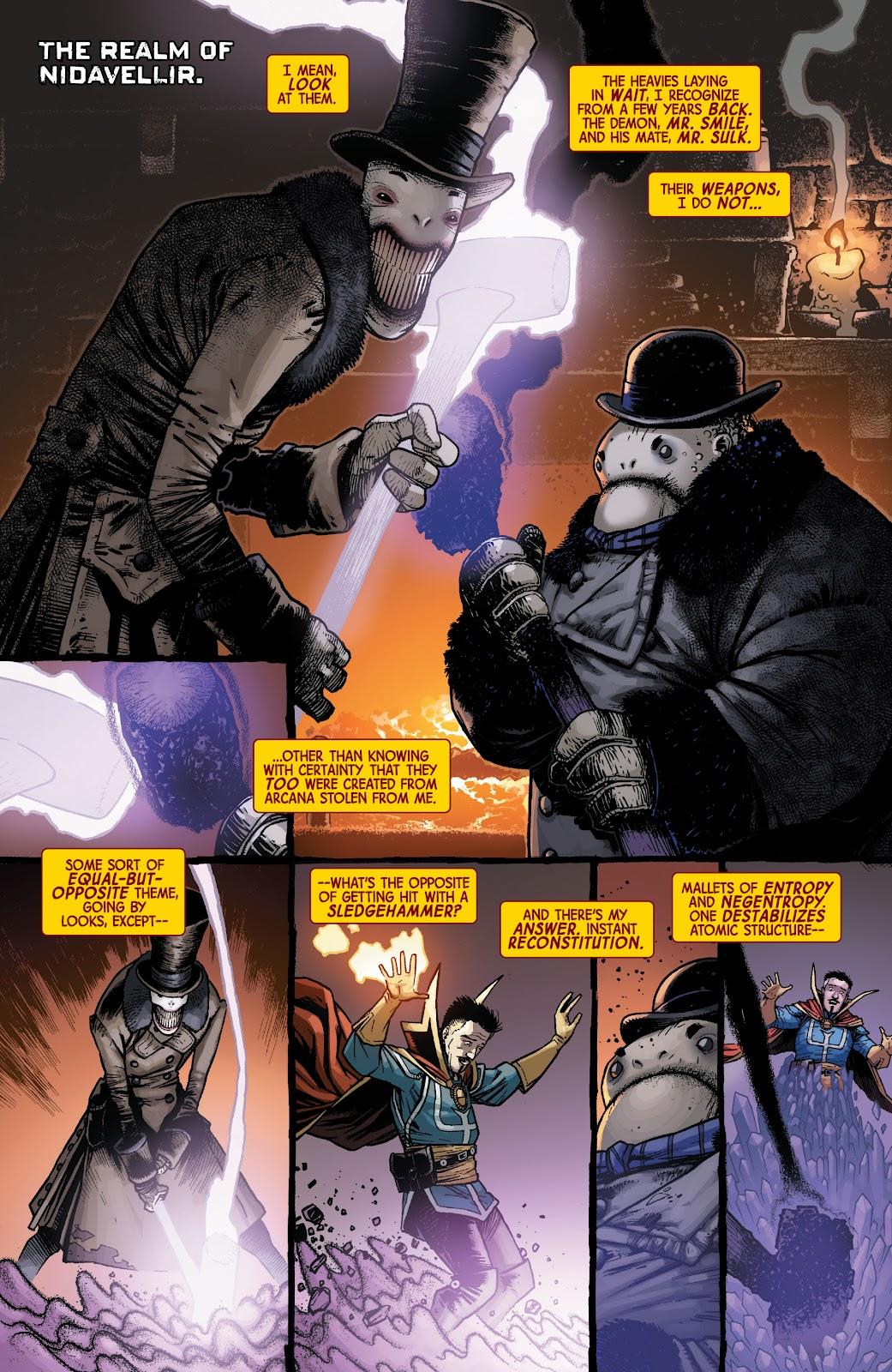 Read online Dr. Strange comic -  Issue #5 - 3