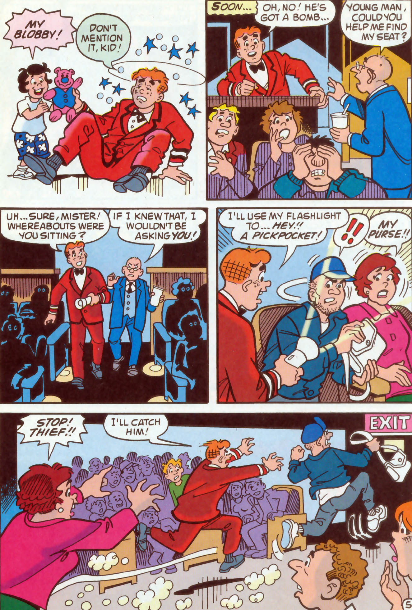 Read online Archie (1960) comic -  Issue #473 - 13