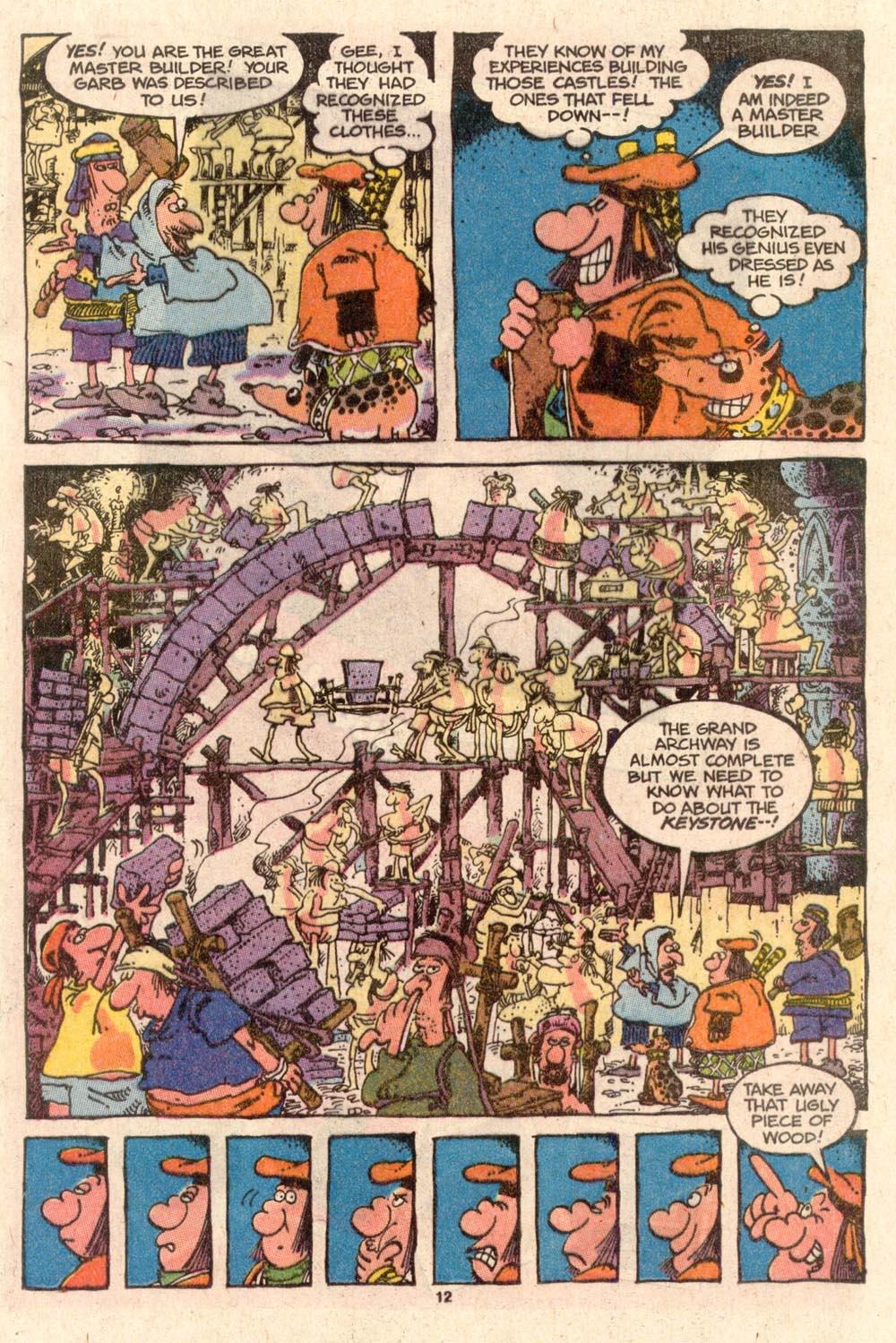 Read online Sergio Aragonés Groo the Wanderer comic -  Issue #46 - 12