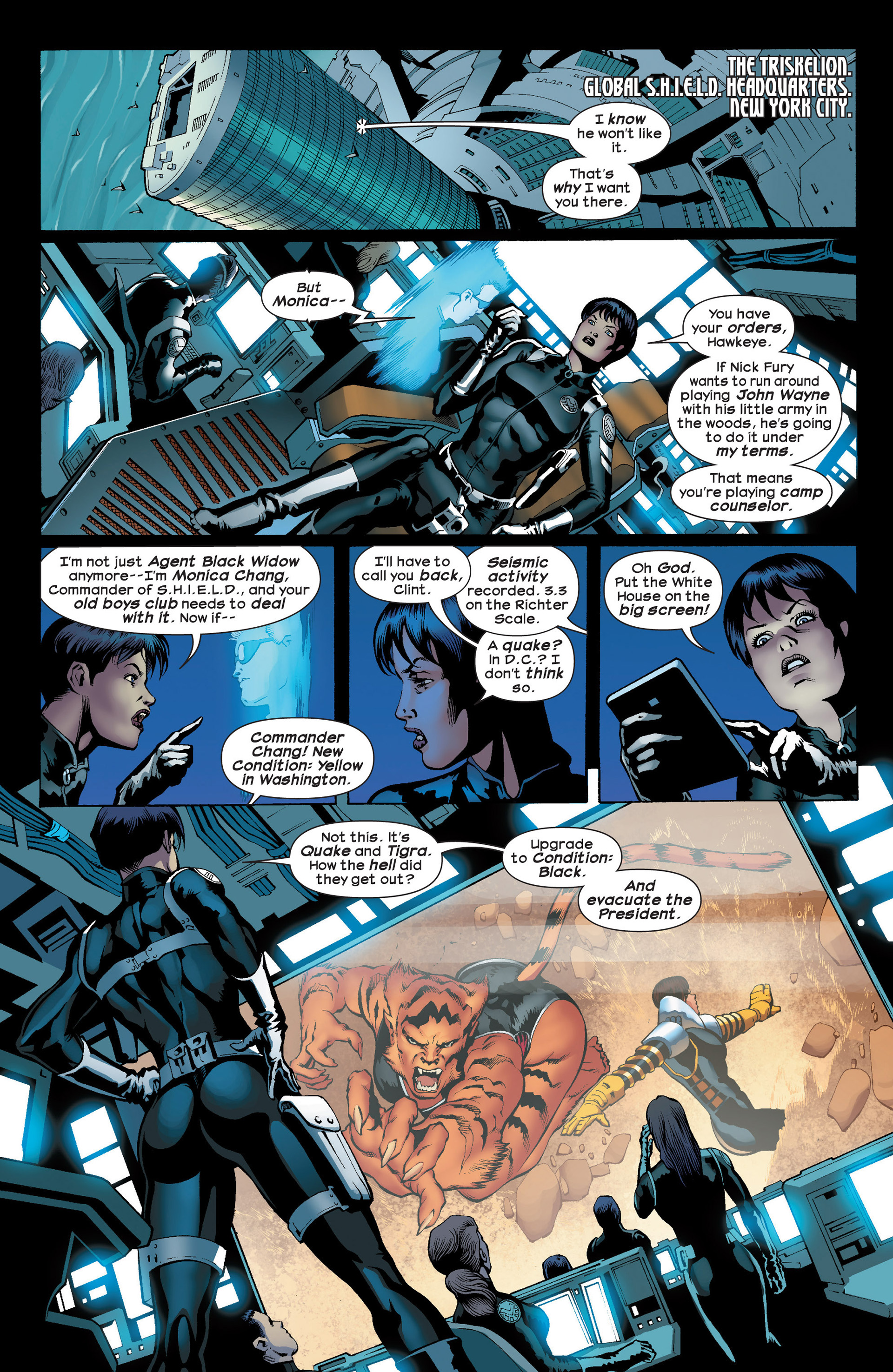 Read online Ultimate Comics Ultimates comic -  Issue #23 - 7
