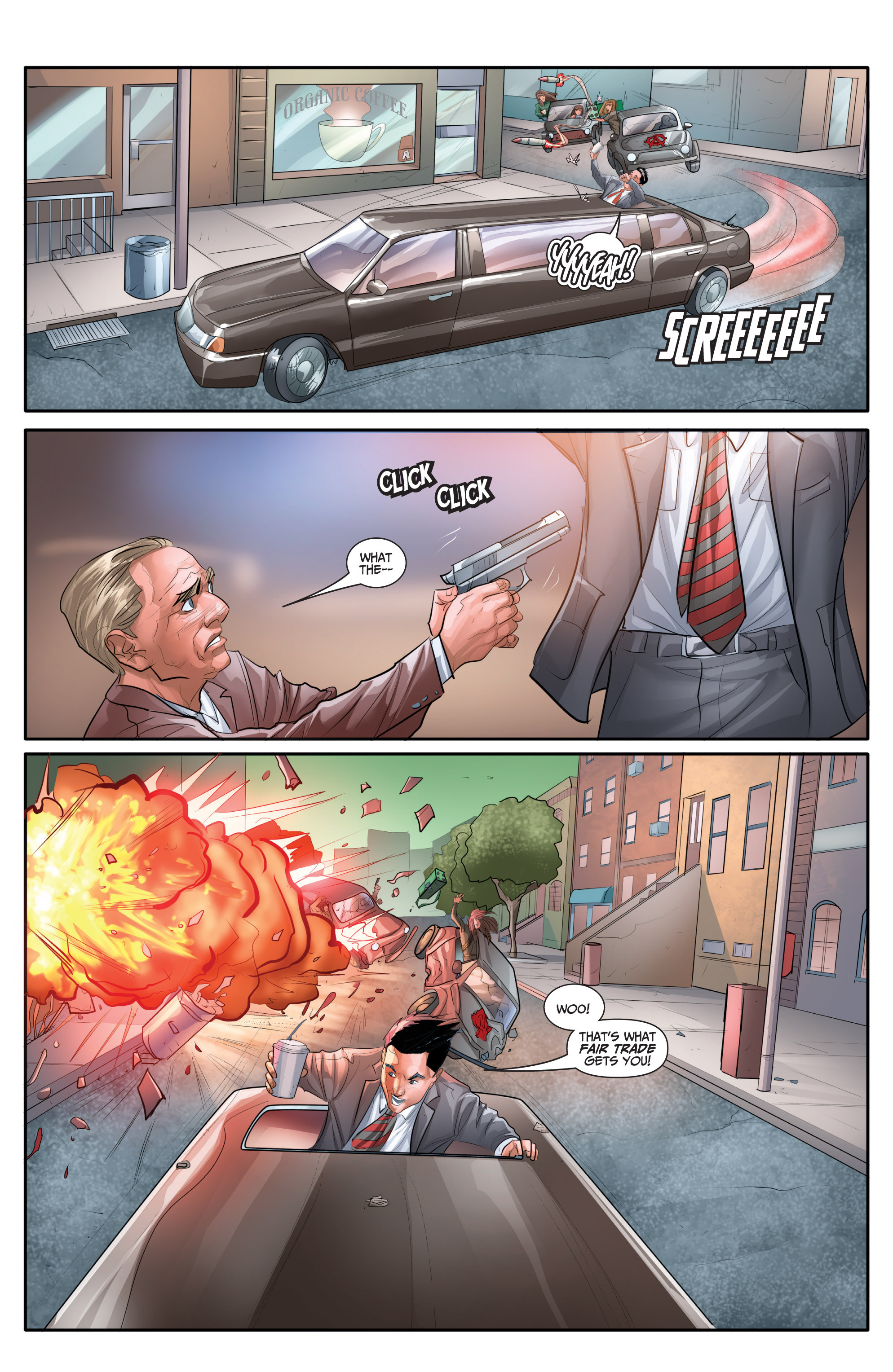 Read online Archer and Armstrong comic -  Issue #Archer and Armstrong _TPB 7 - 65